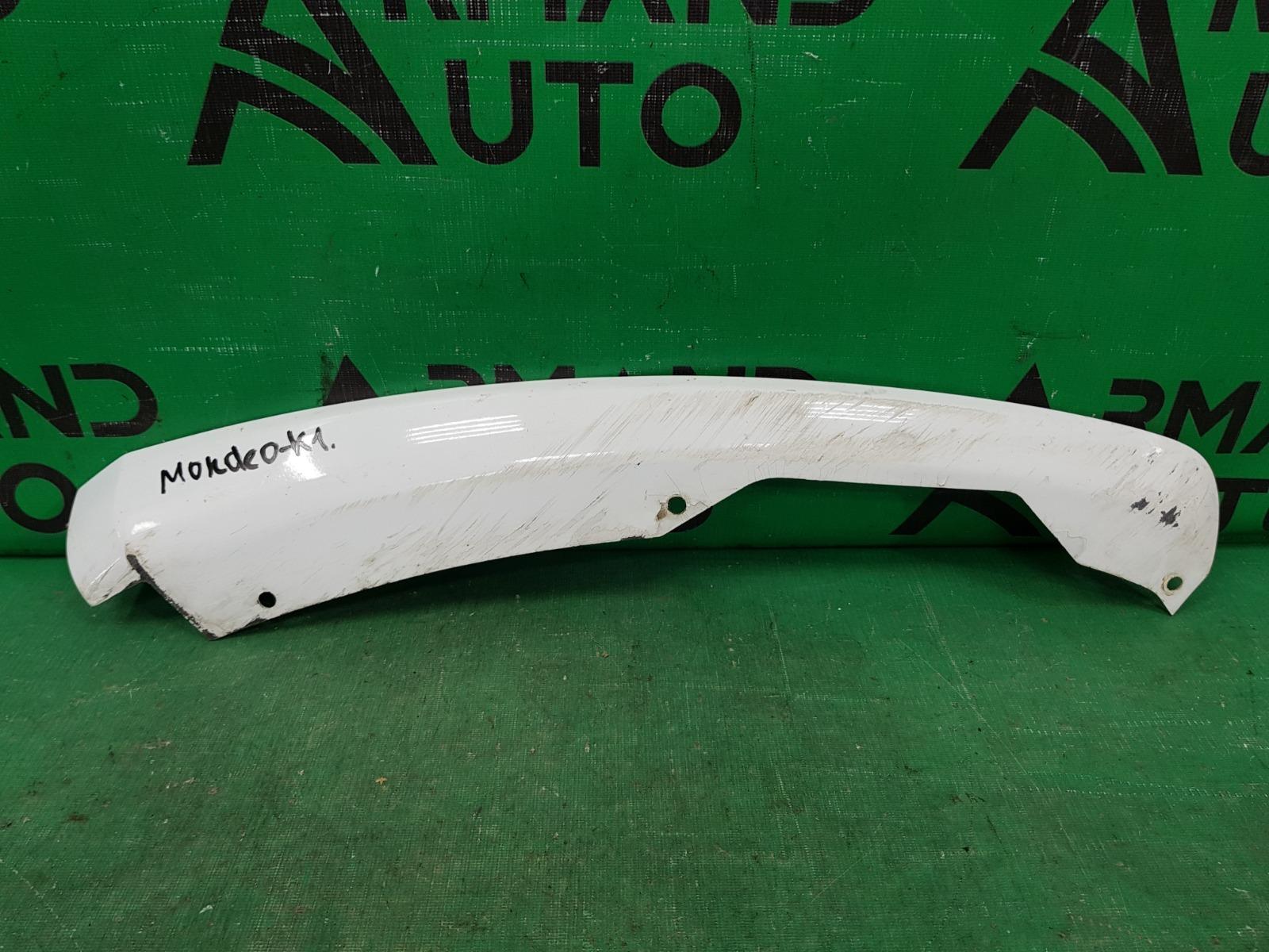 Накладка бампера Ford Mondeo 5 2014 передняя правая (б/у)