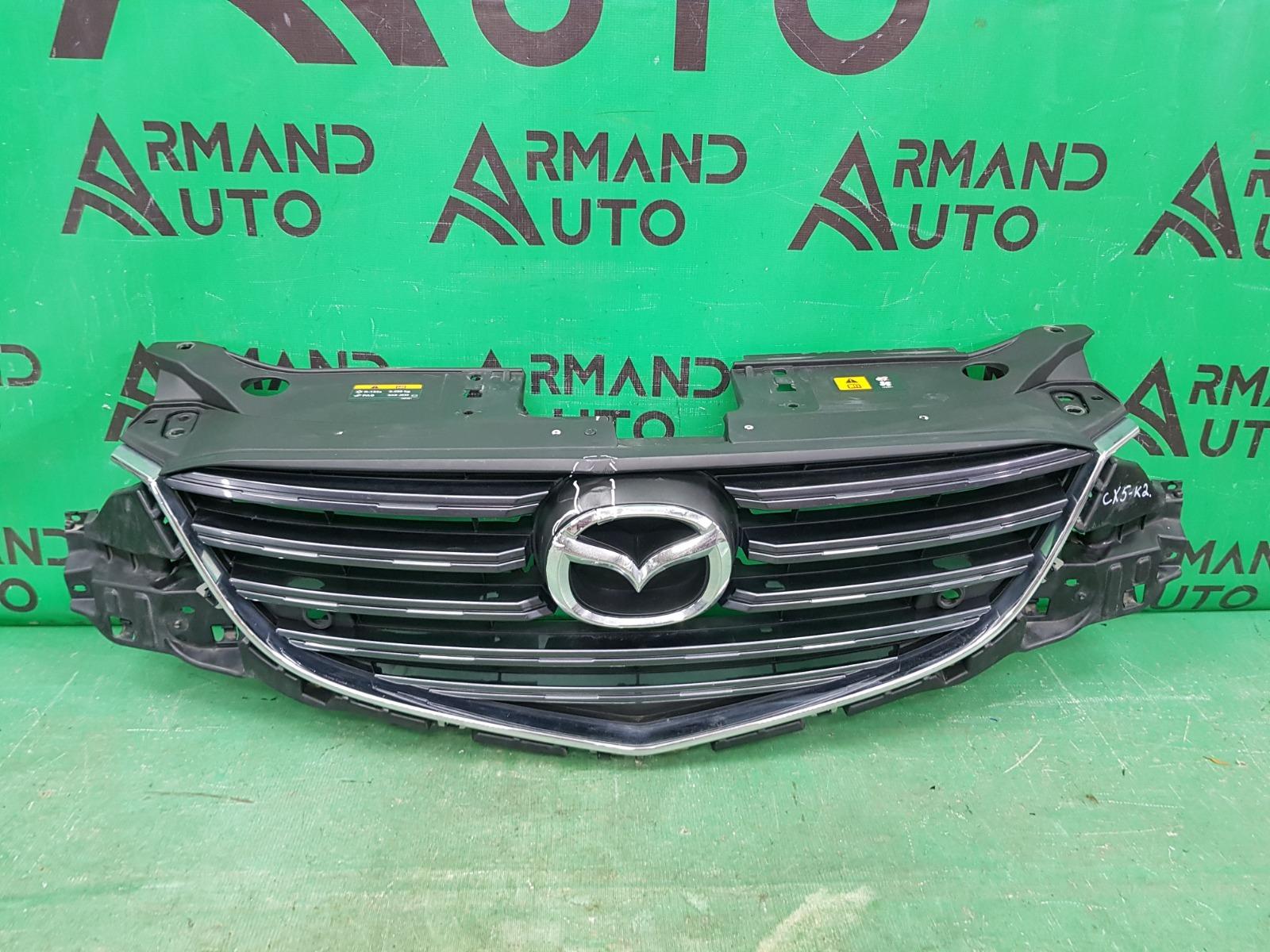 Решетка радиатора Mazda Cx-5 Cx5 1 РЕСТАЙЛИНГ 2015 (б/у)