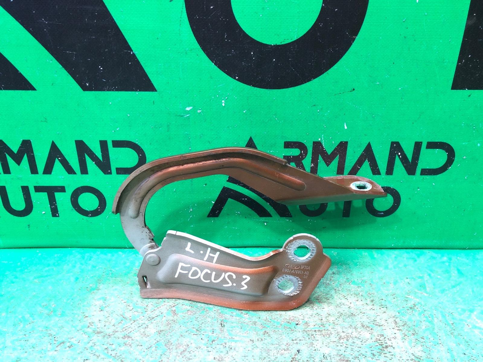 Петля капота Ford Focus 3 2011 левая (б/у)