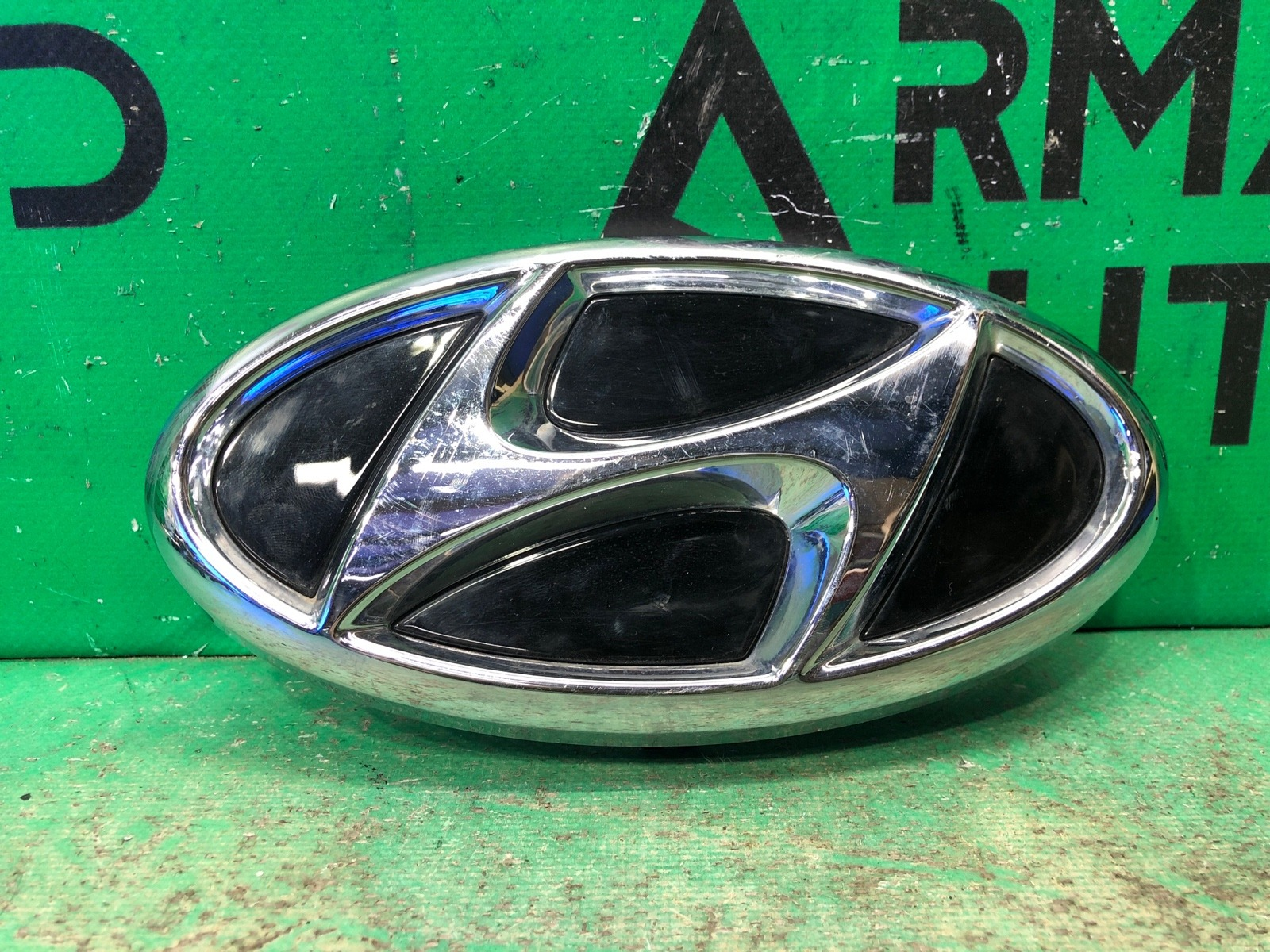 Эмблема Hyundai Sonata 8 2019 передняя (б/у)