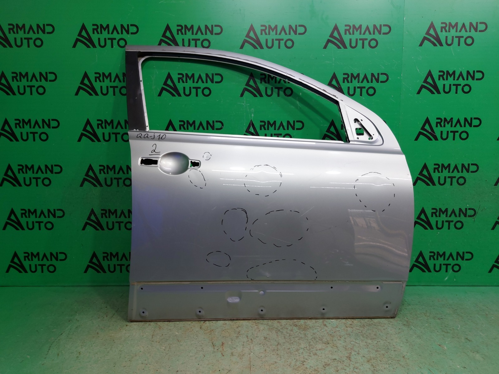 Дверь Nissan Qashqai J10 2006 передняя правая (б/у)