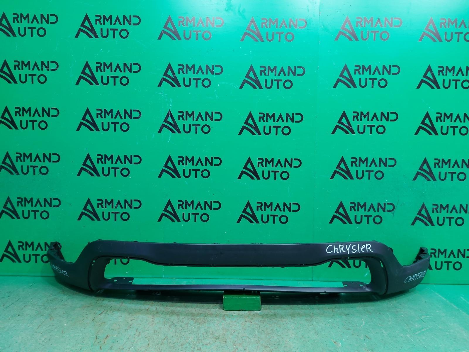Юбка бампера Jeep Grand Cherokee WK2 РЕСТАЙЛИНГ 2013 передняя (б/у)