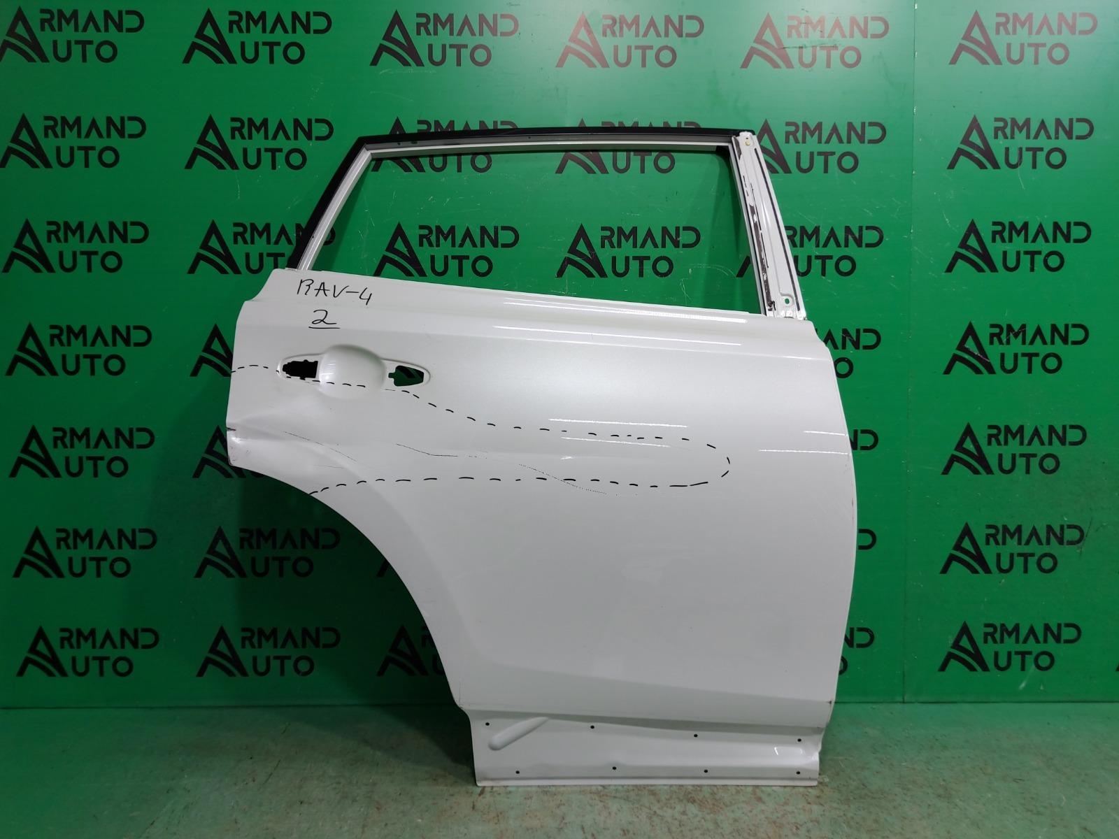 Дверь Toyota Rav4 CA40 2012 задняя правая (б/у)