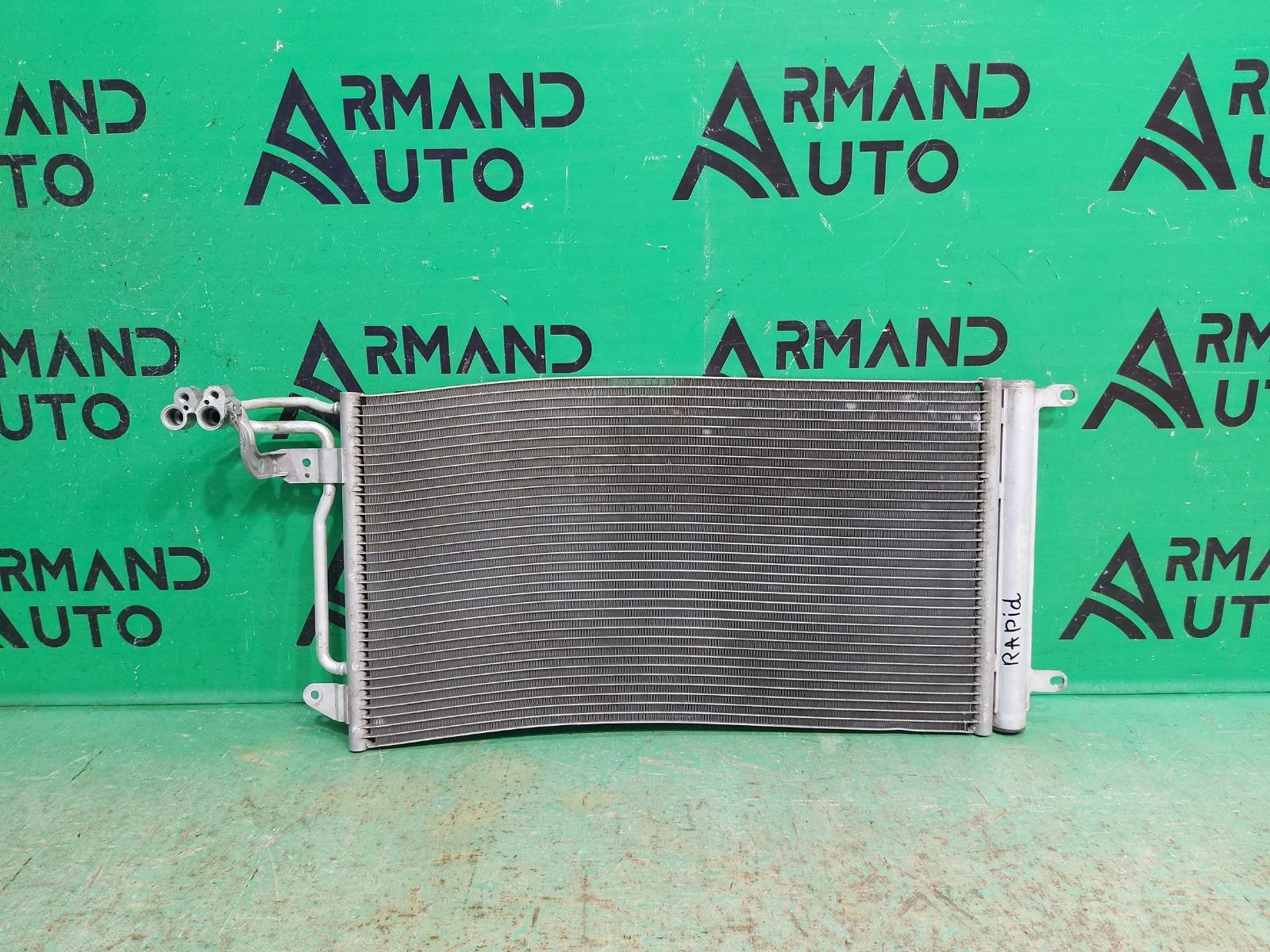 Радиатор кондиционера Skoda Rapid 1 2012 (б/у)