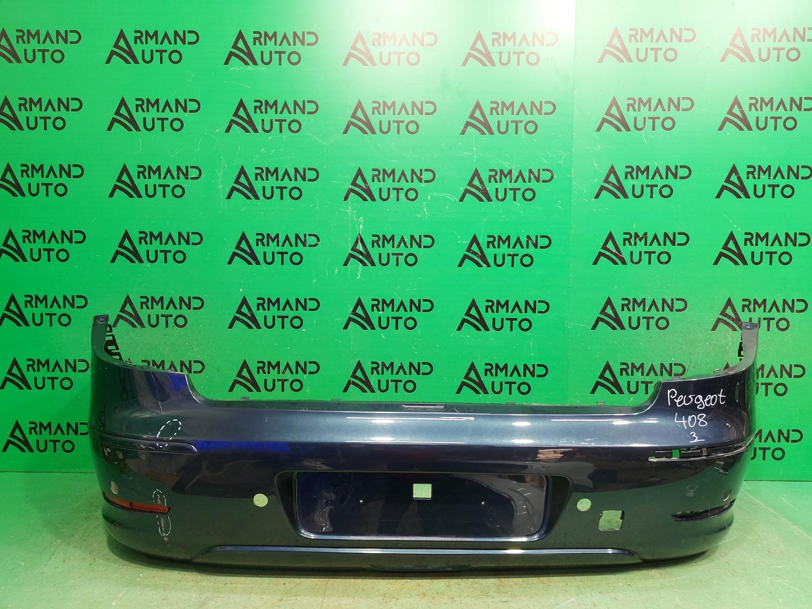 Бампер Peugeot 408 1 2012 задний (б/у)
