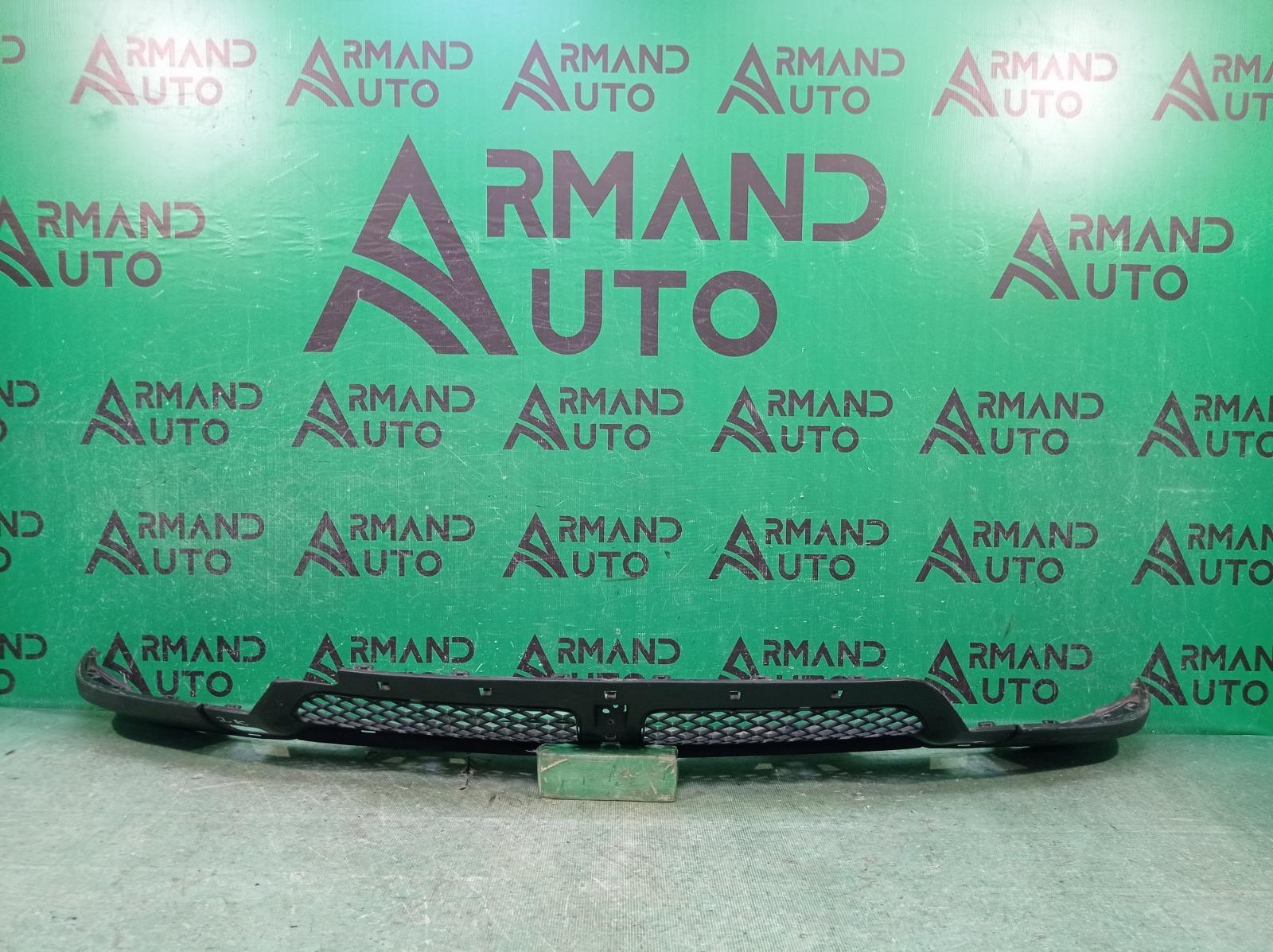 Юбка бампера Mercedes M Ml Gle-Class W166 2011 передняя (б/у)