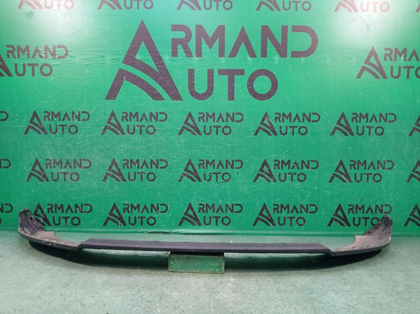 Накладка бампера Audi Q3 1 8U 2014 передняя нижняя (б/у)