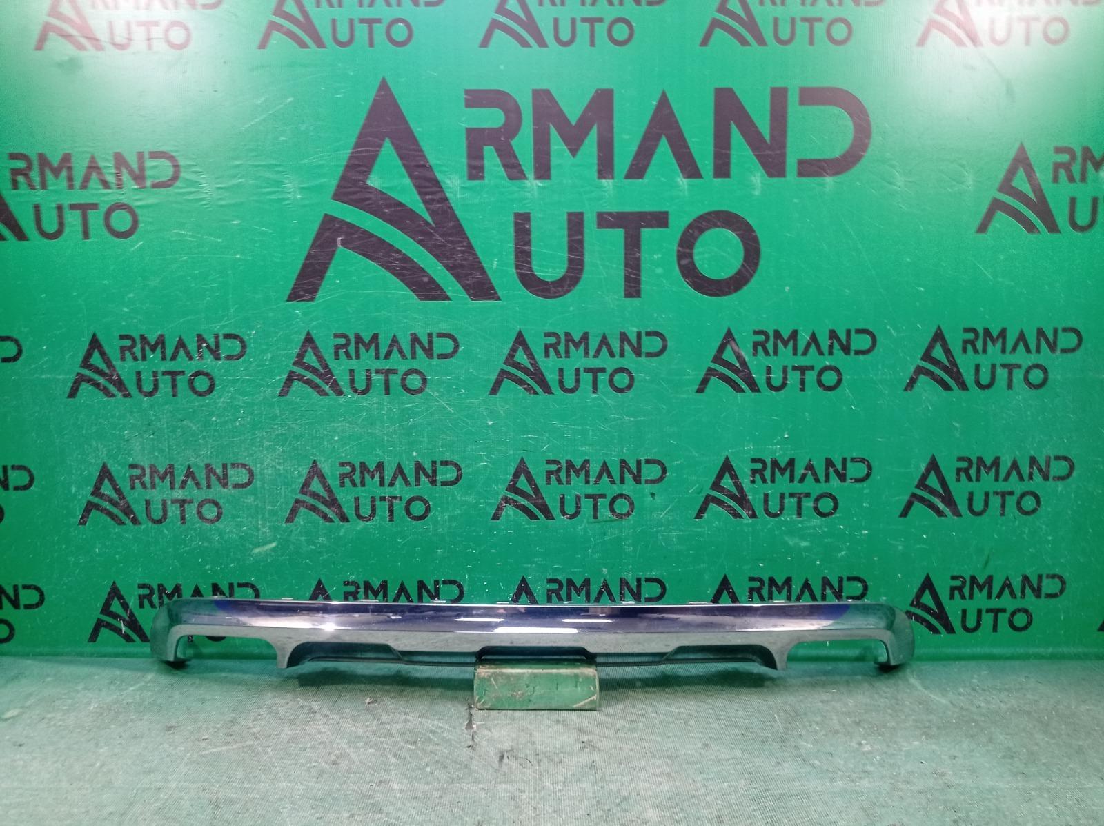 Накладка бампера Mercedes Glk-Class X204 2012 задняя (б/у)