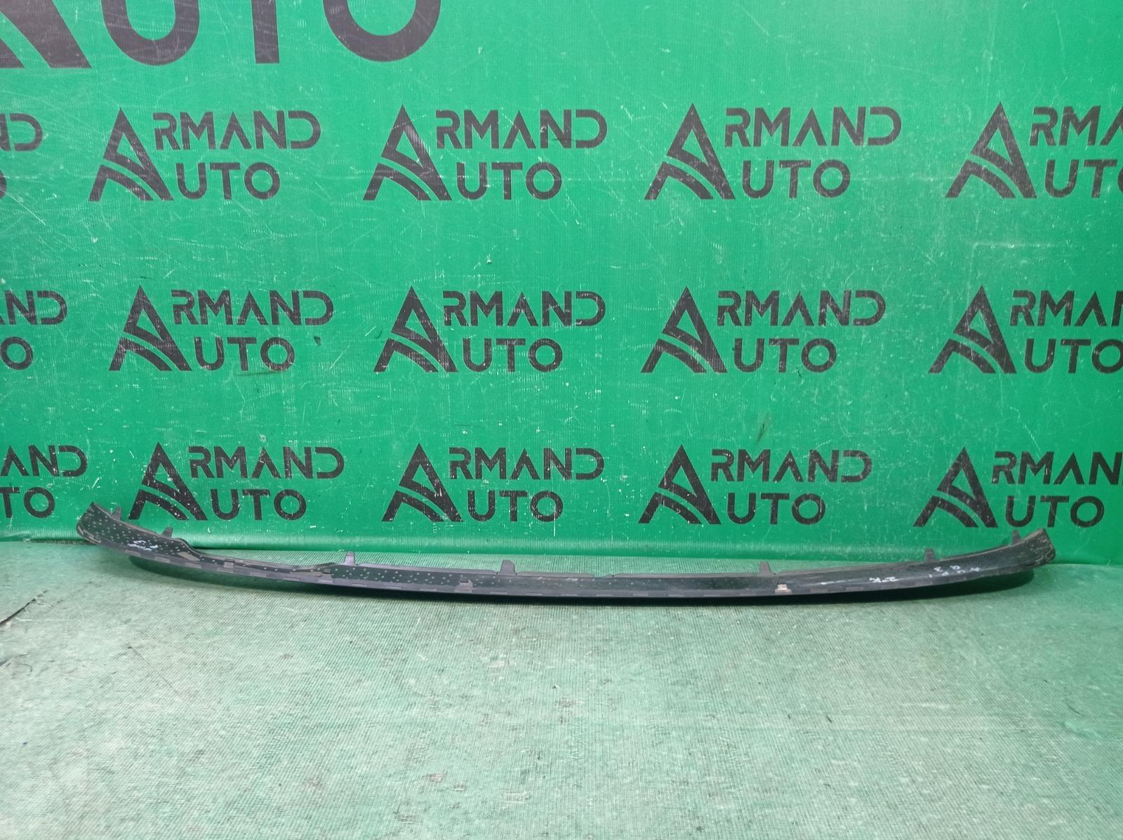 Накладка бампера Audi Q3 1 8U 2011 задняя (б/у)