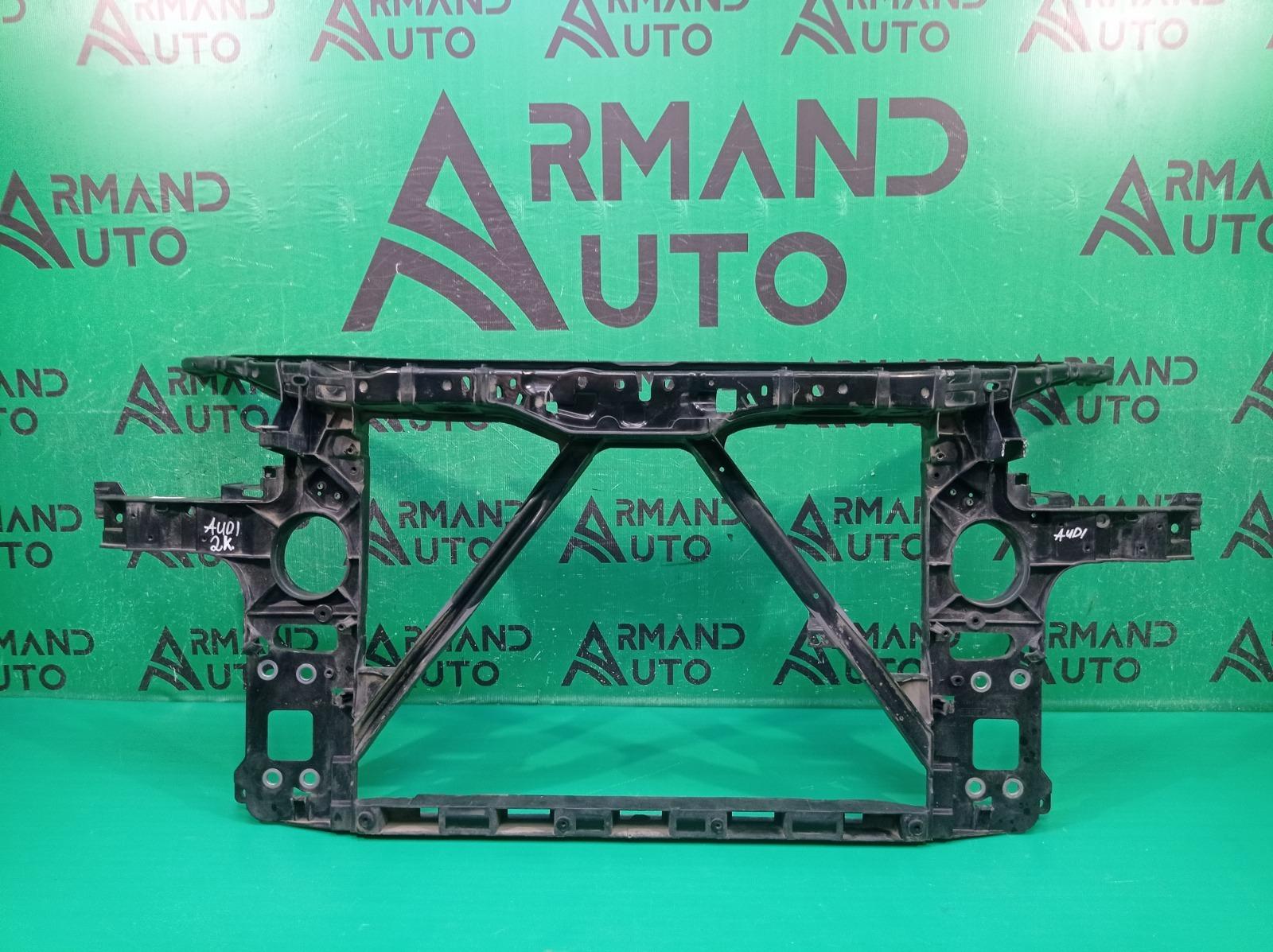 Панель передняя (суппорт радиатора) Audi Q7 1 4L 2005 (б/у)