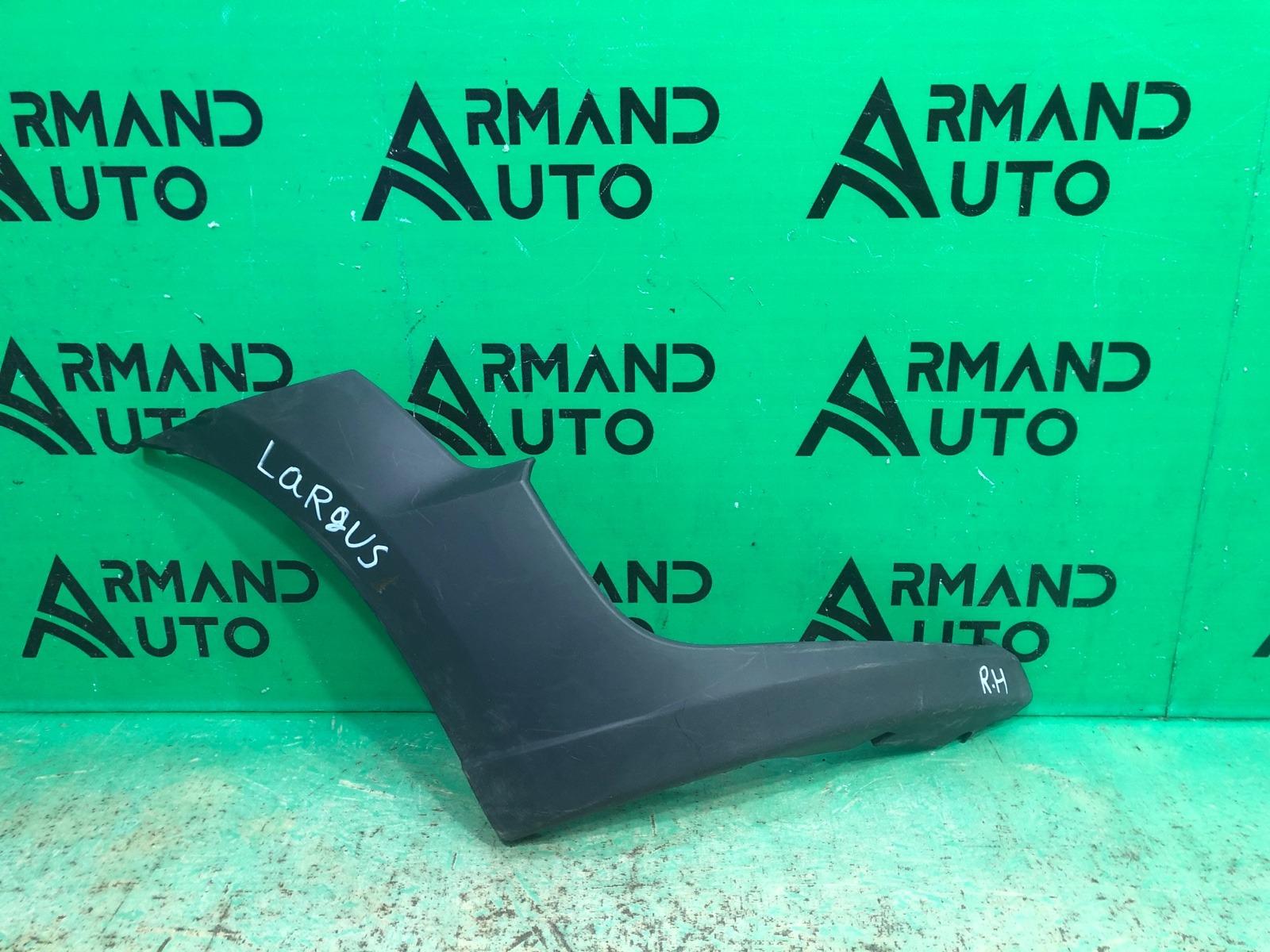 Накладка бампера Lada Largus Cross 1 2012 передняя правая (б/у)