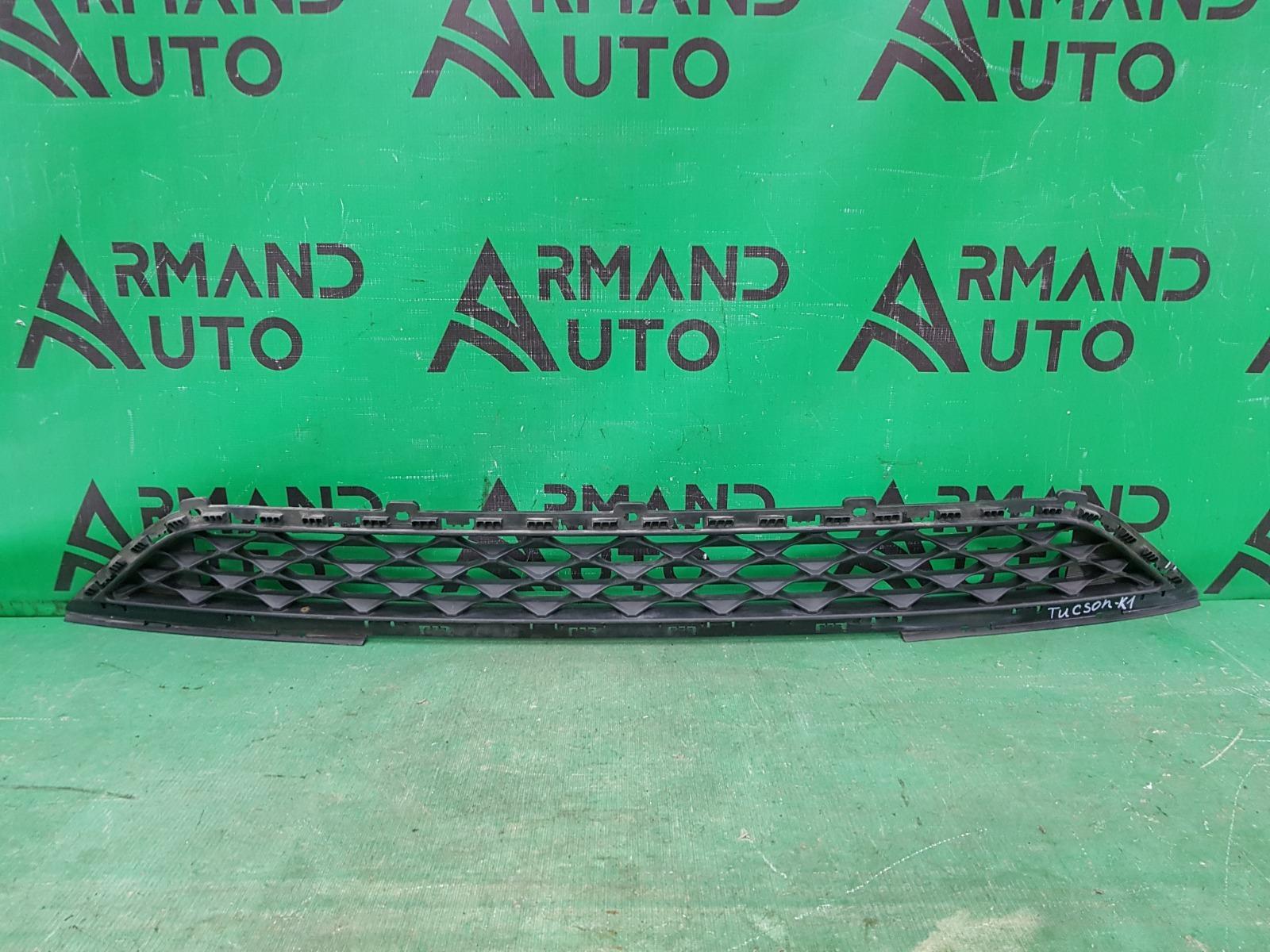 Решетка бампера Hyundai Tucson 3 РЕСТАЙЛИНГ 2018 передняя нижняя (б/у)