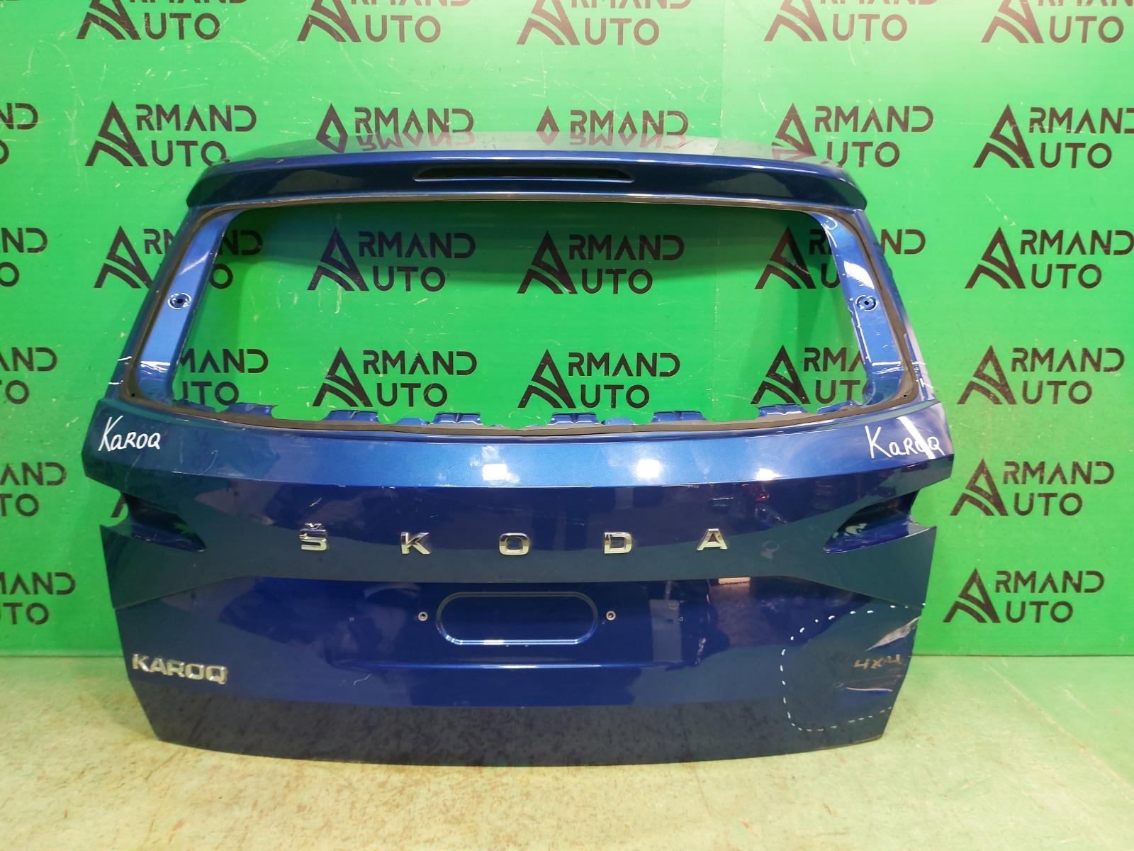 Дверь багажника Skoda Karoq 1 2017 (б/у)