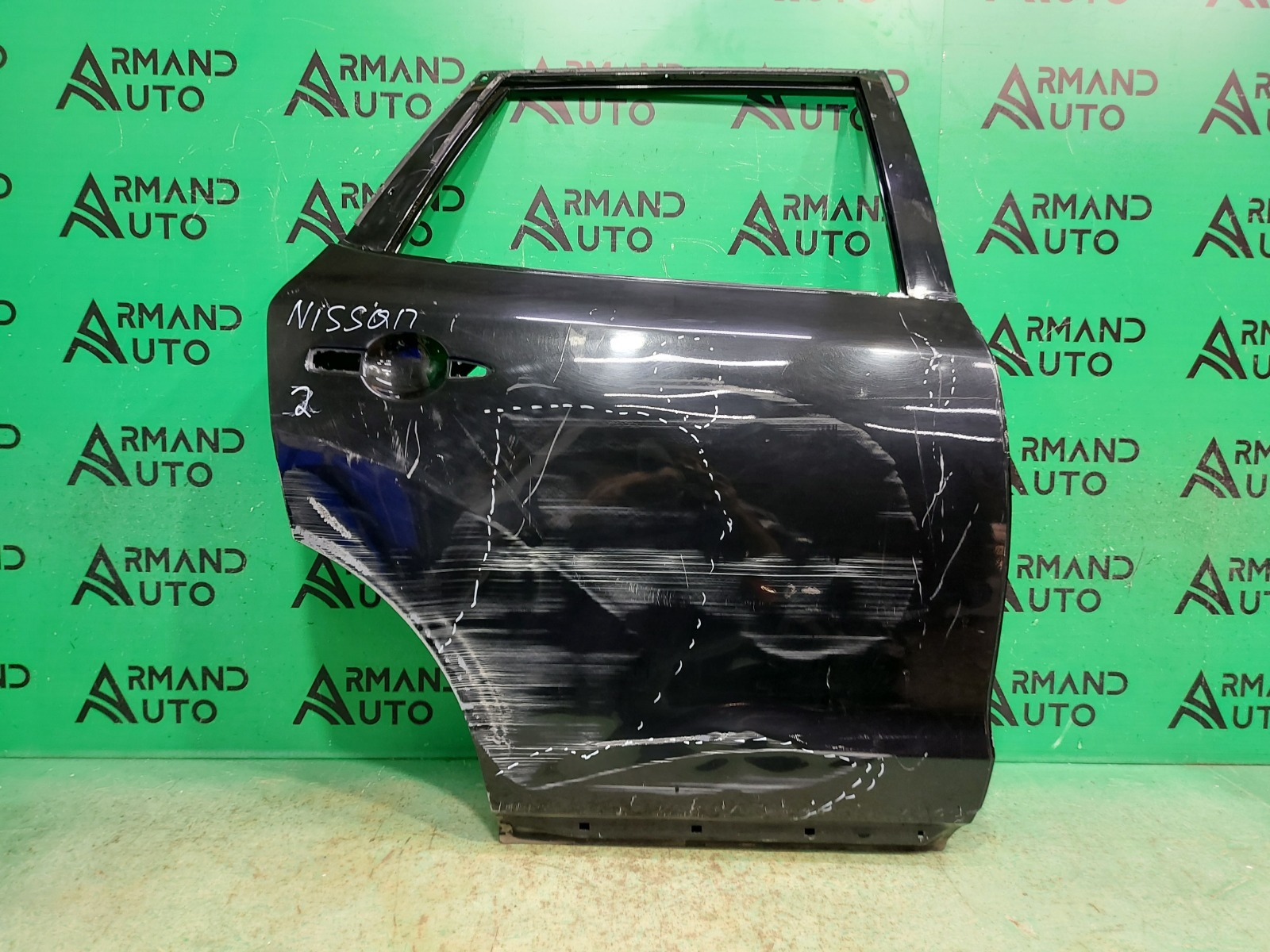 Дверь Nissan Murano Z51 2007 задняя правая (б/у)