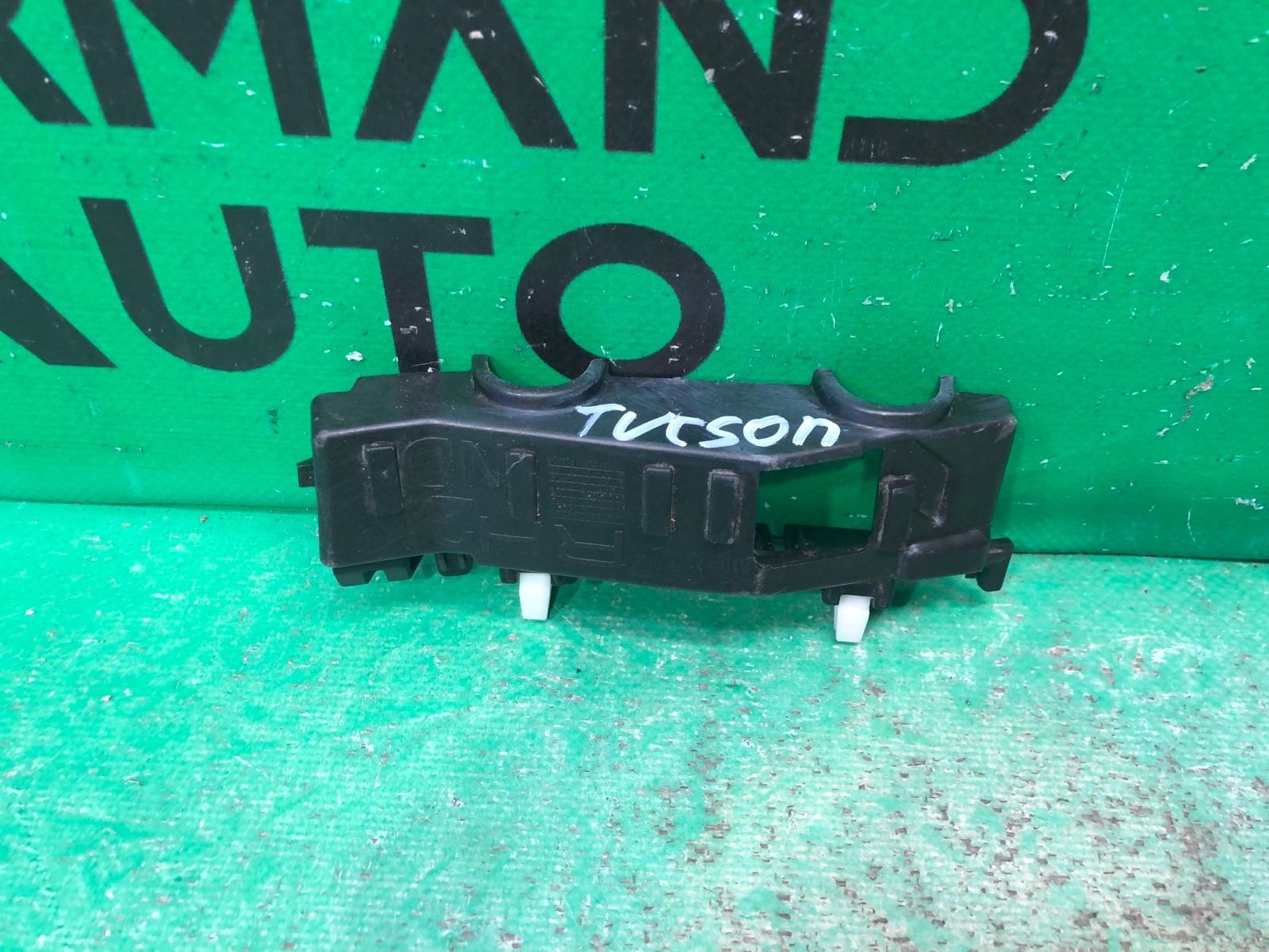 Кронштейн бампера Hyundai Tucson 3 2015 передний правый (б/у)