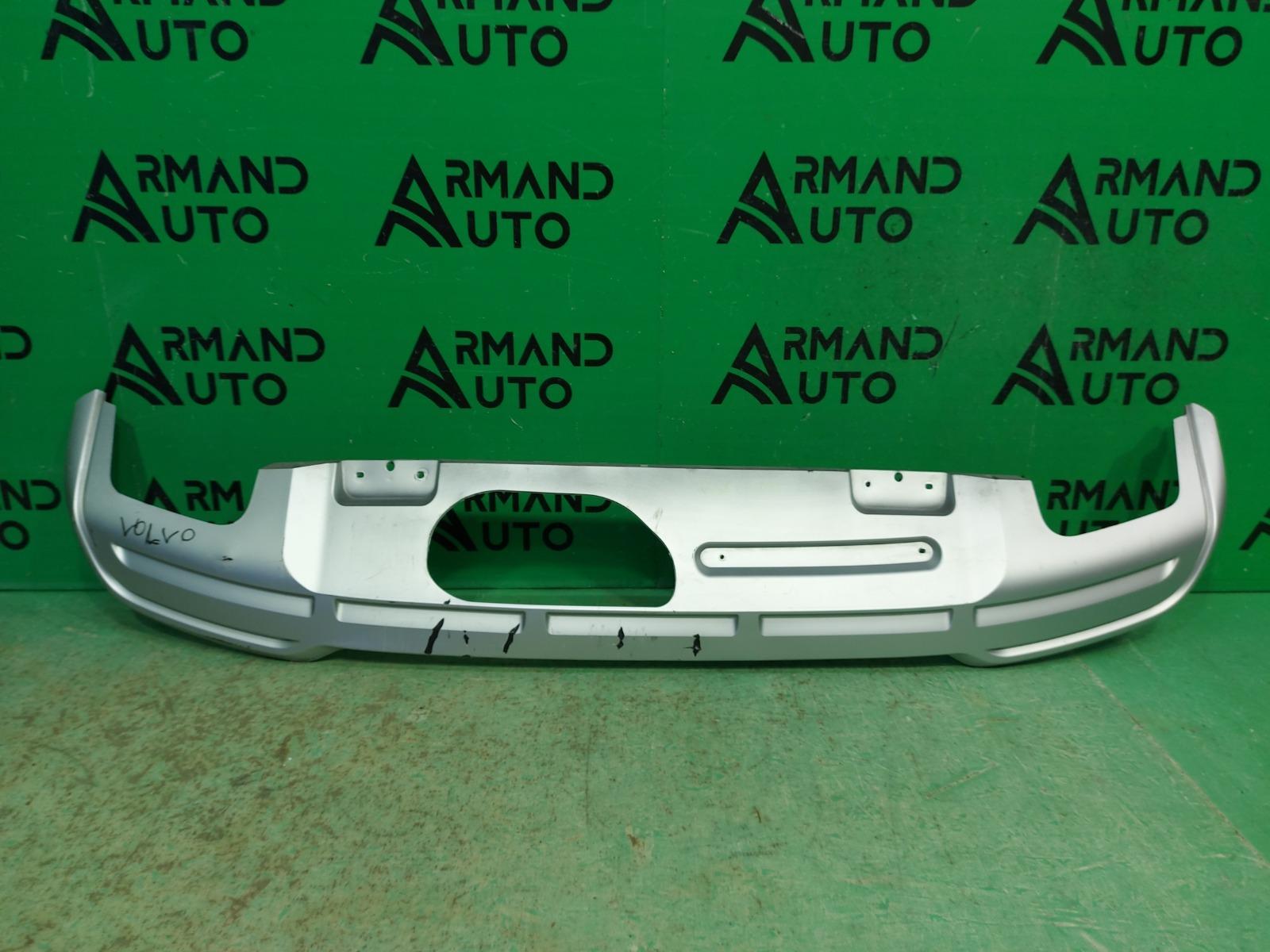 Накладка бампера Volvo V90 Cross Country 1 РЕСТАЙЛИНГ 2020 задняя (б/у)