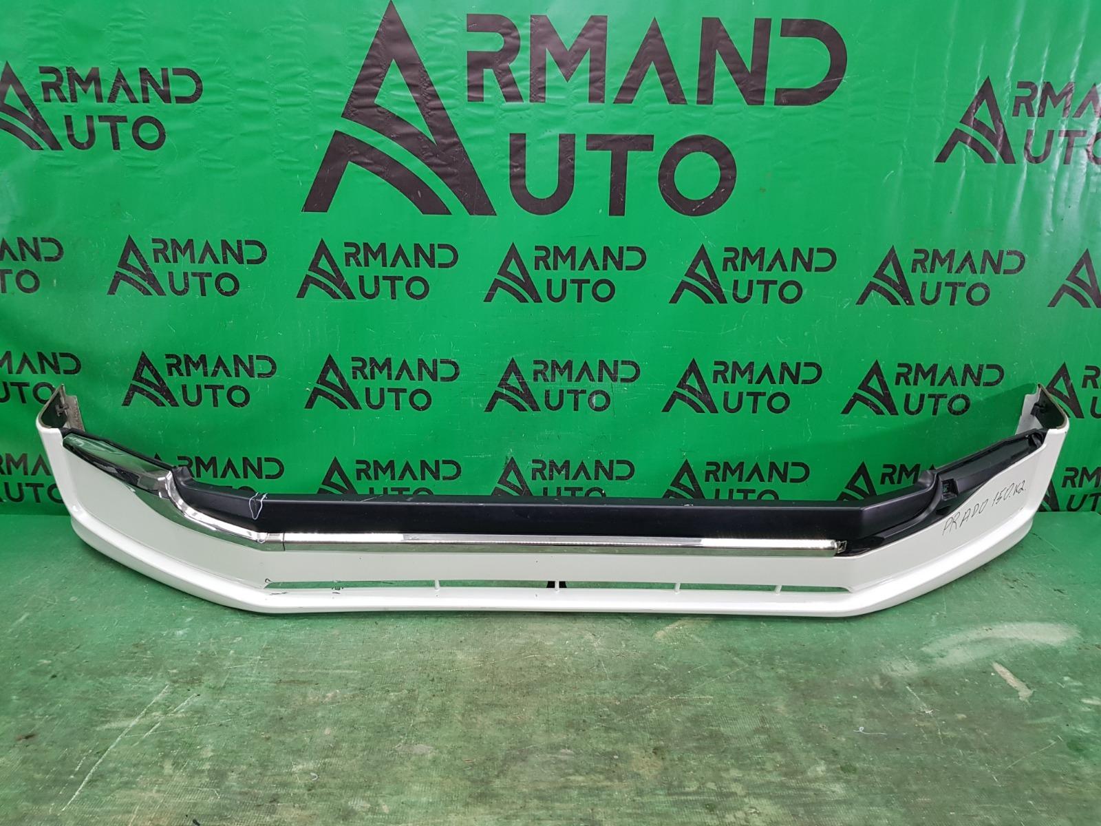 Юбка бампера Toyota Land Cruiser Prado 150 РЕСТАЙЛИНГ 2 2017 передняя (б/у)