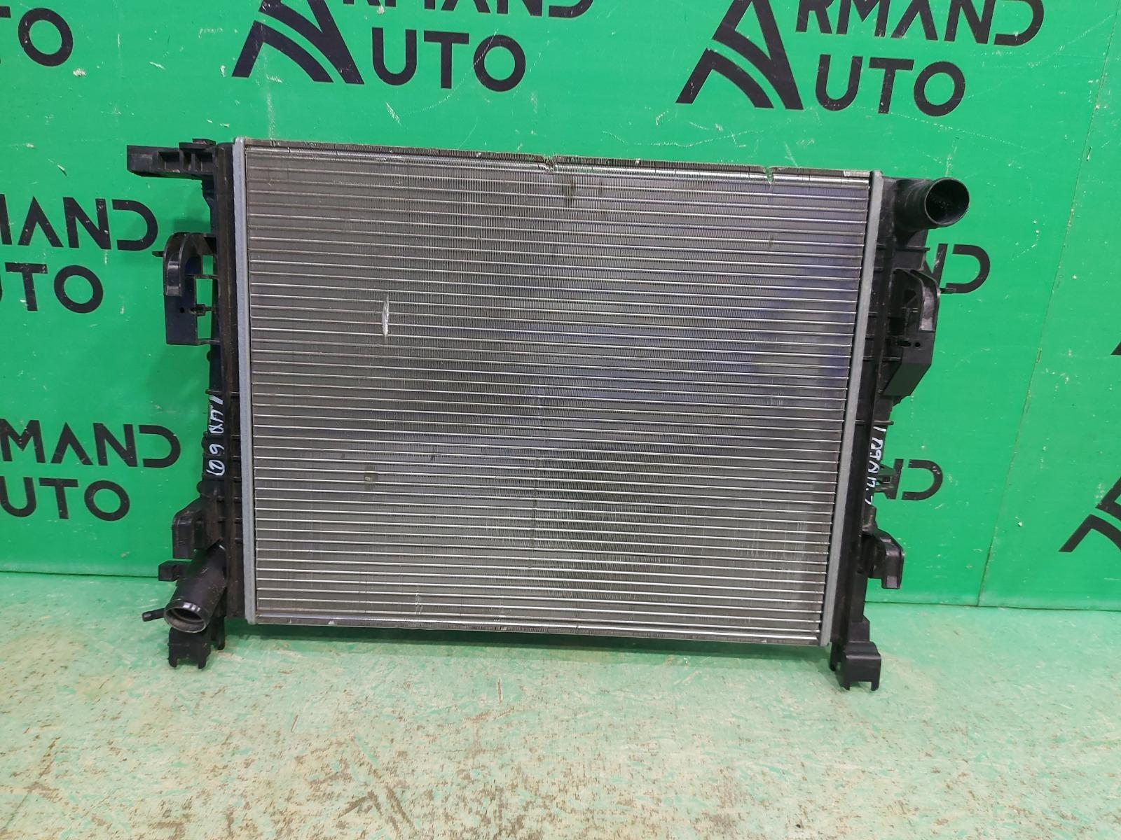Радиатор охлаждения Renault Logan 2 2014 (б/у)