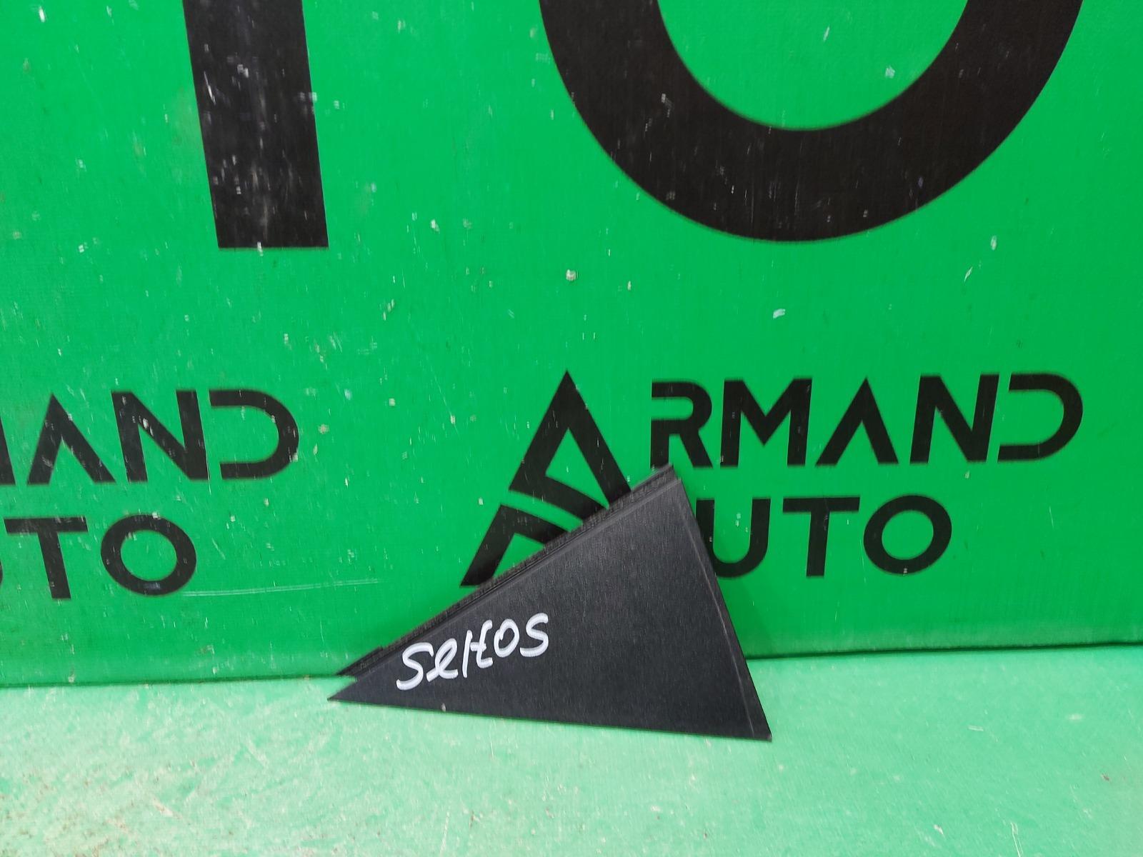 Накладка двери Kia Seltos 1 2019 задняя левая (б/у)