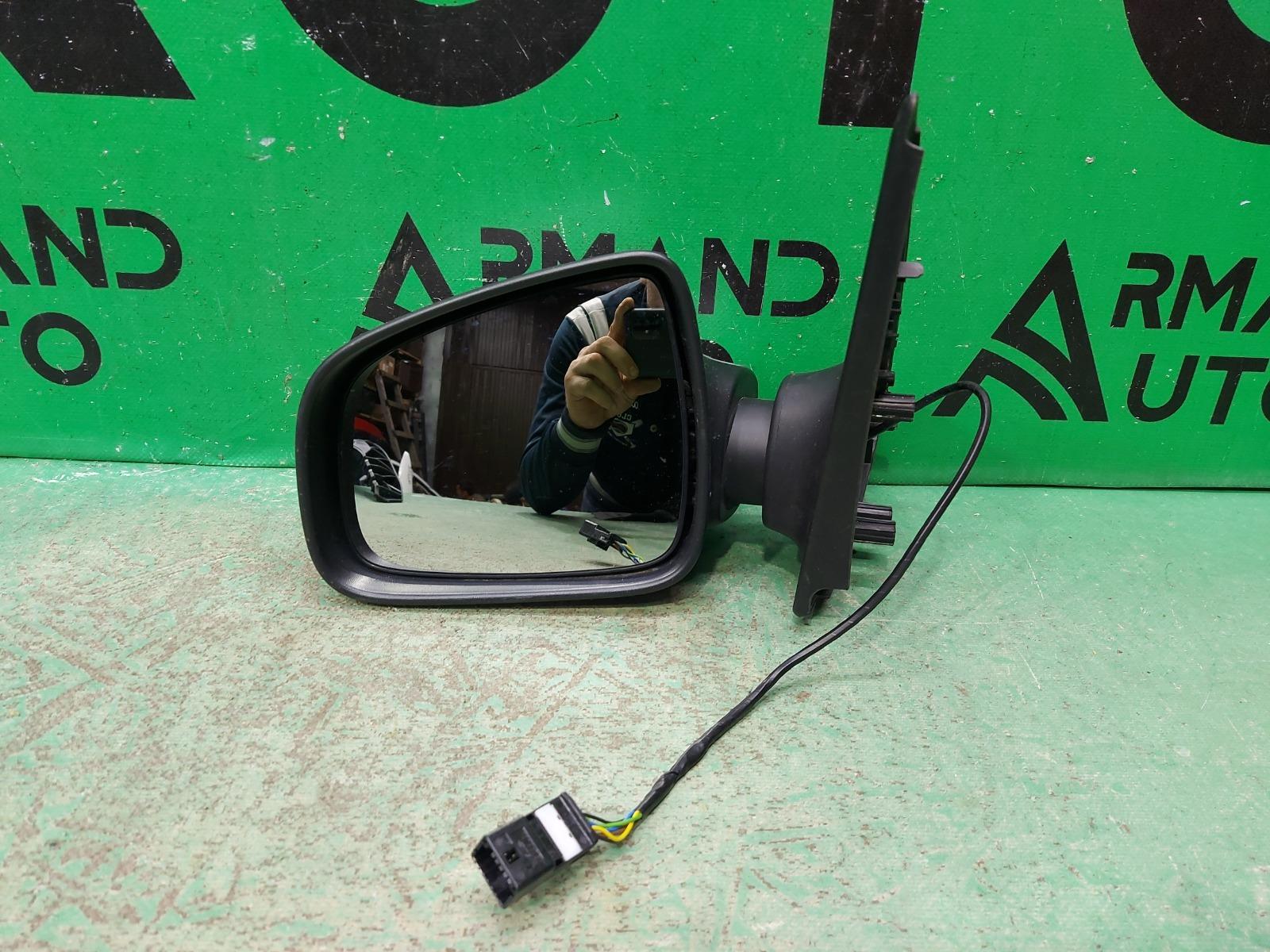 Зеркало Renault Logan 2 2014 левое (б/у)