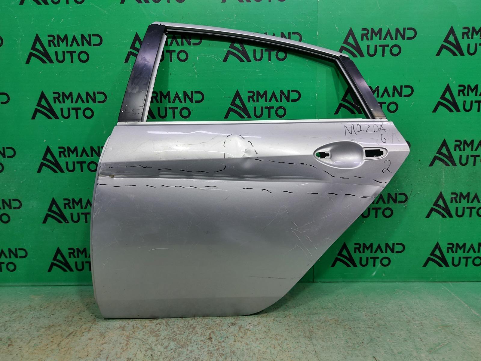 Дверь Mazda 6 GH 2007 задняя левая (б/у)