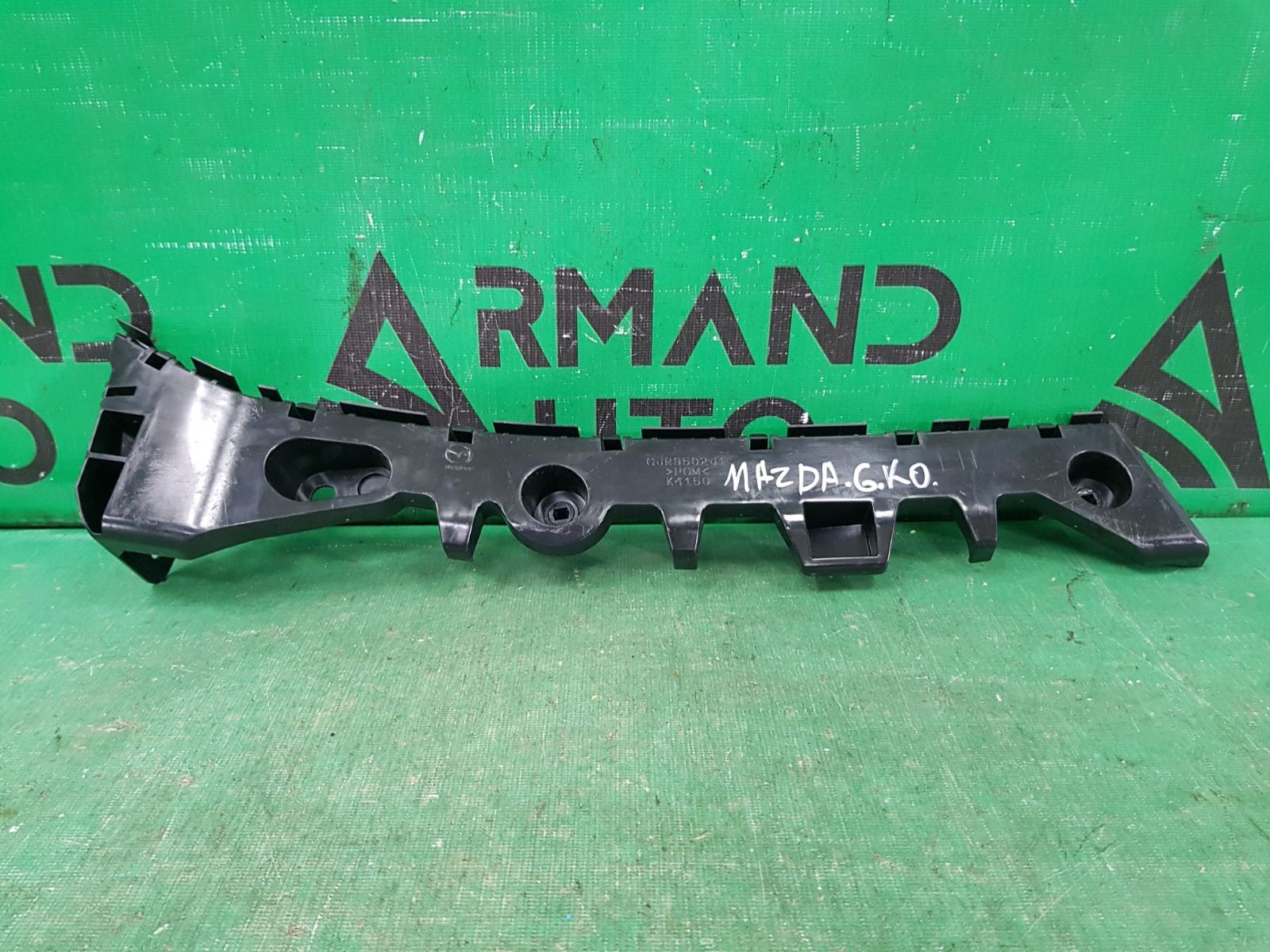 Кронштейн бампера Mazda 6 GJ 2012 задний левый (б/у)