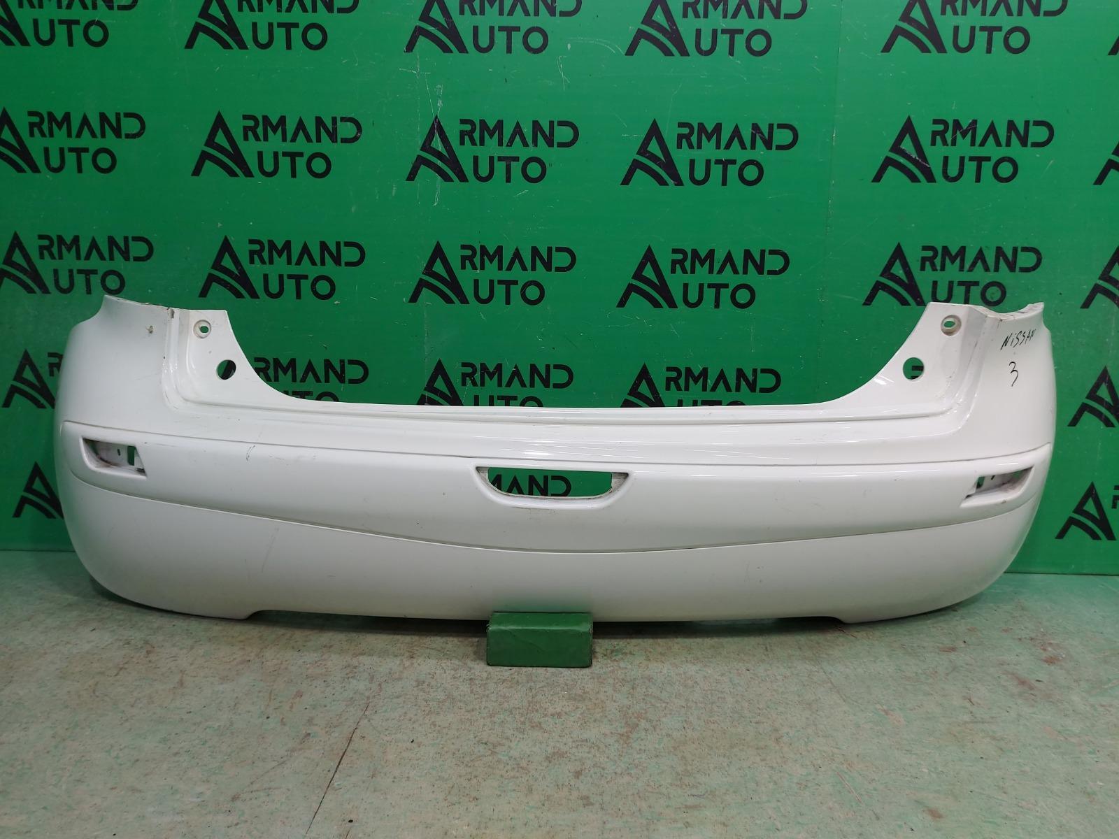 Бампер Nissan Note E11 РЕСТАЙЛИНГ 2009 задний (б/у)