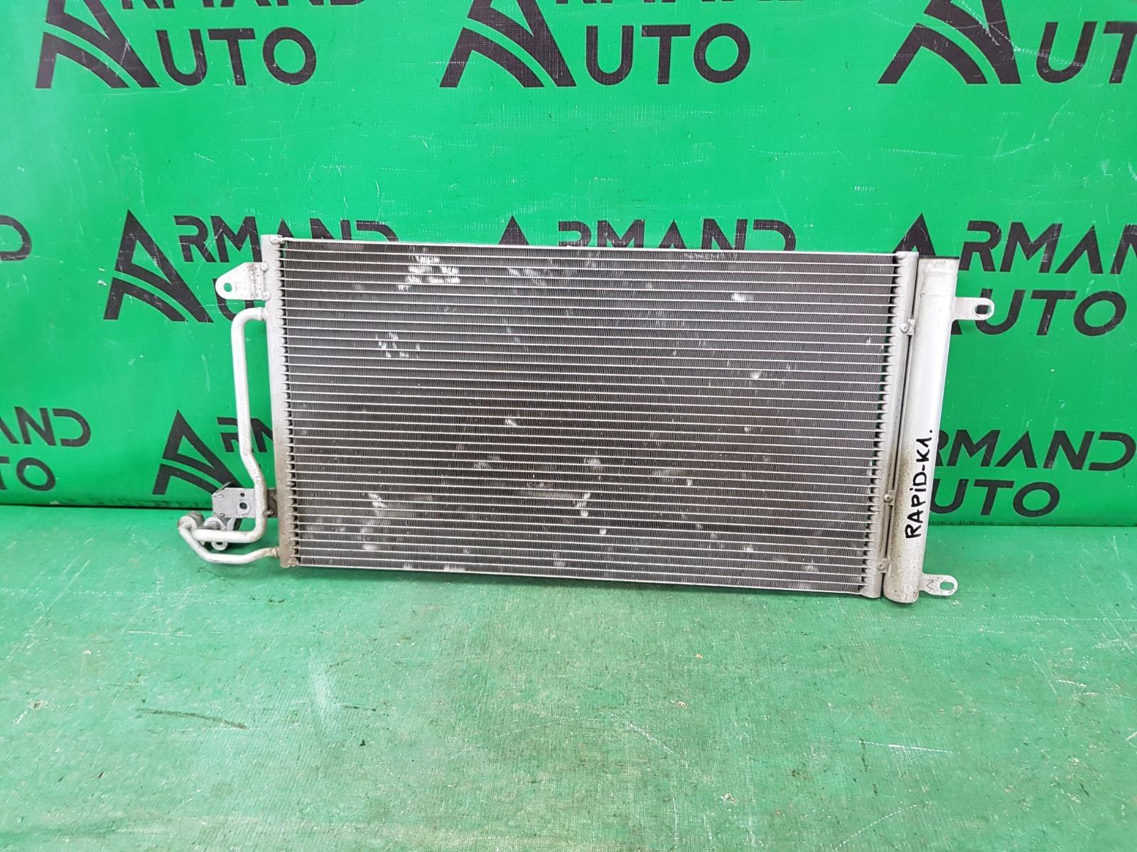 Радиатор кондиционера Volkswagen Polo 5 2010 (б/у)