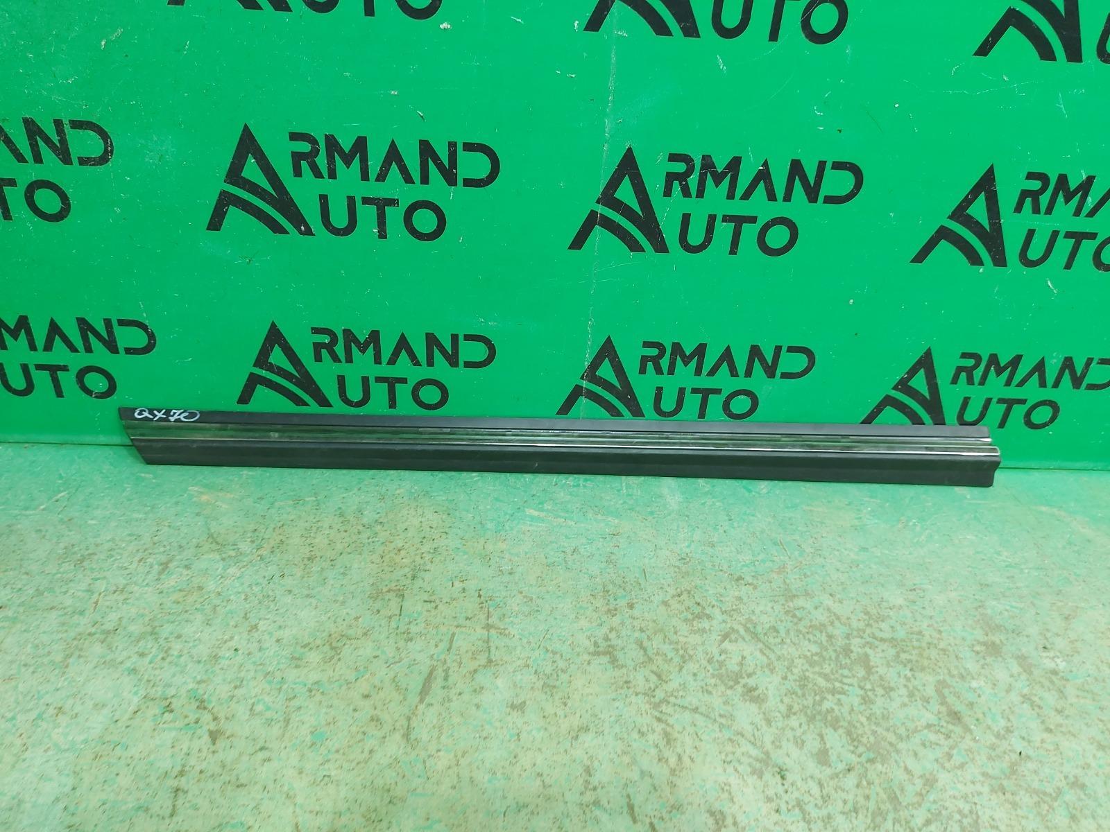 Накладка двери Infiniti Fx/qx70 S51 2008 передняя левая (б/у)
