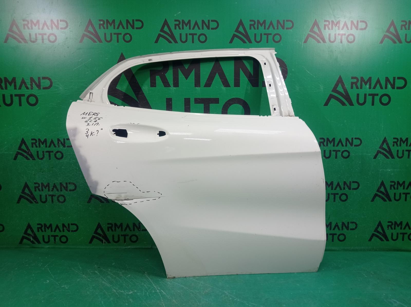 Дверь Mercedes Gla-Class X156 2013 задняя правая (б/у)