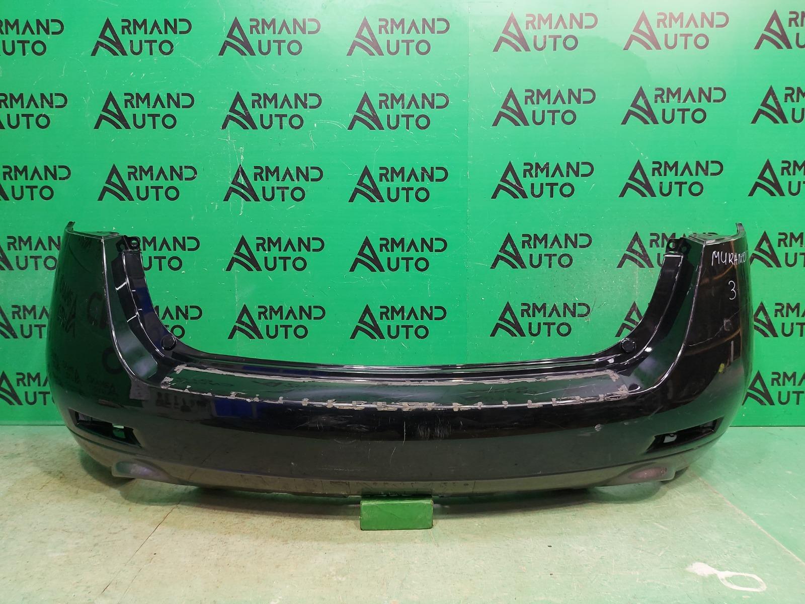 Бампер Nissan Murano Z51 2007 задний (б/у)