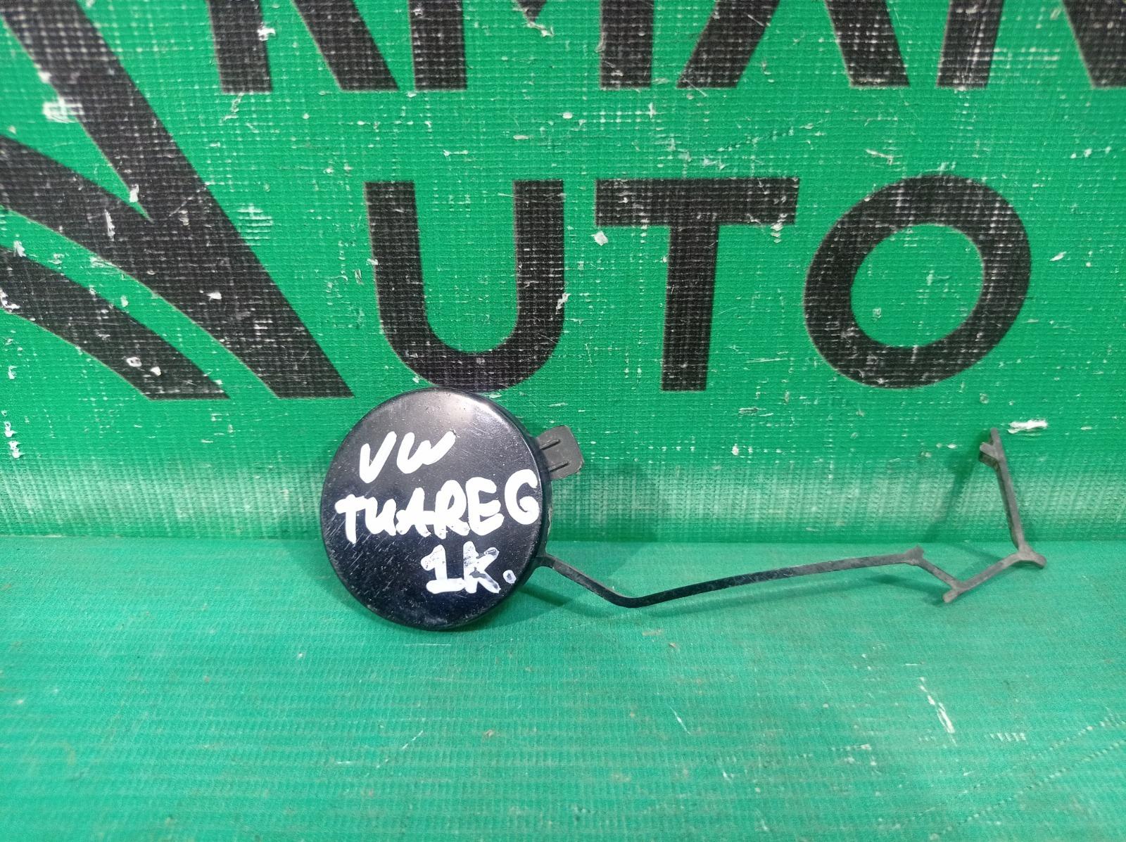 Заглушка буксировочного крюка Volkswagen Touareg 3 2018 передняя левая (б/у)