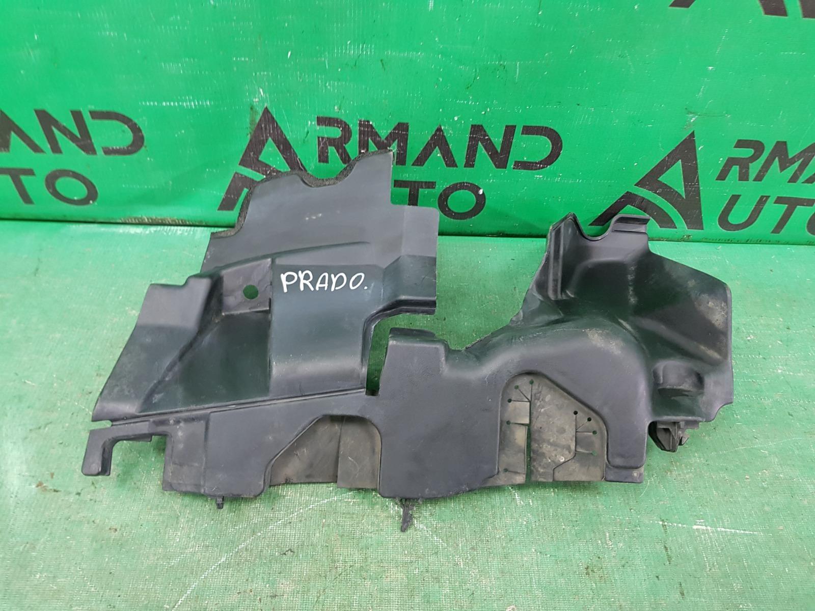 Дефлектор радиатора Toyota Land Cruiser Prado 150 РЕСТАЙЛИНГ 2013 левый (б/у)