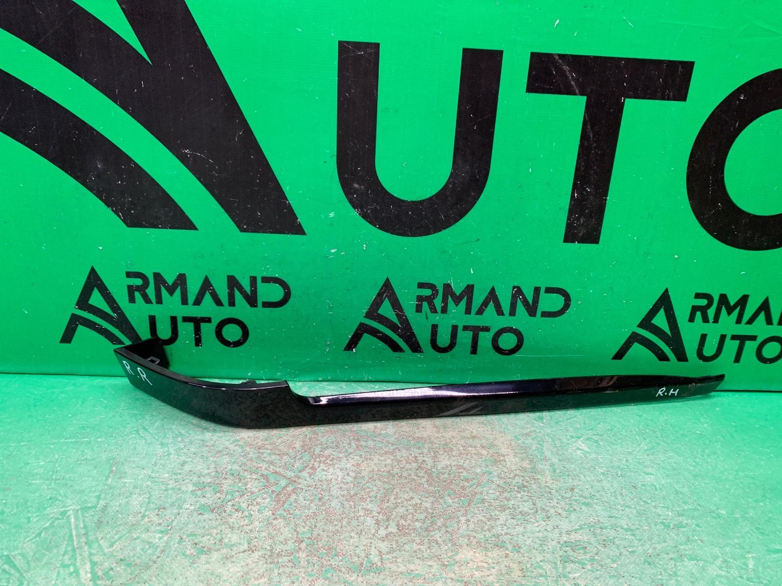 Накладка бампера Land Rover Range Rover Vogue 4 2012 задняя правая (б/у)