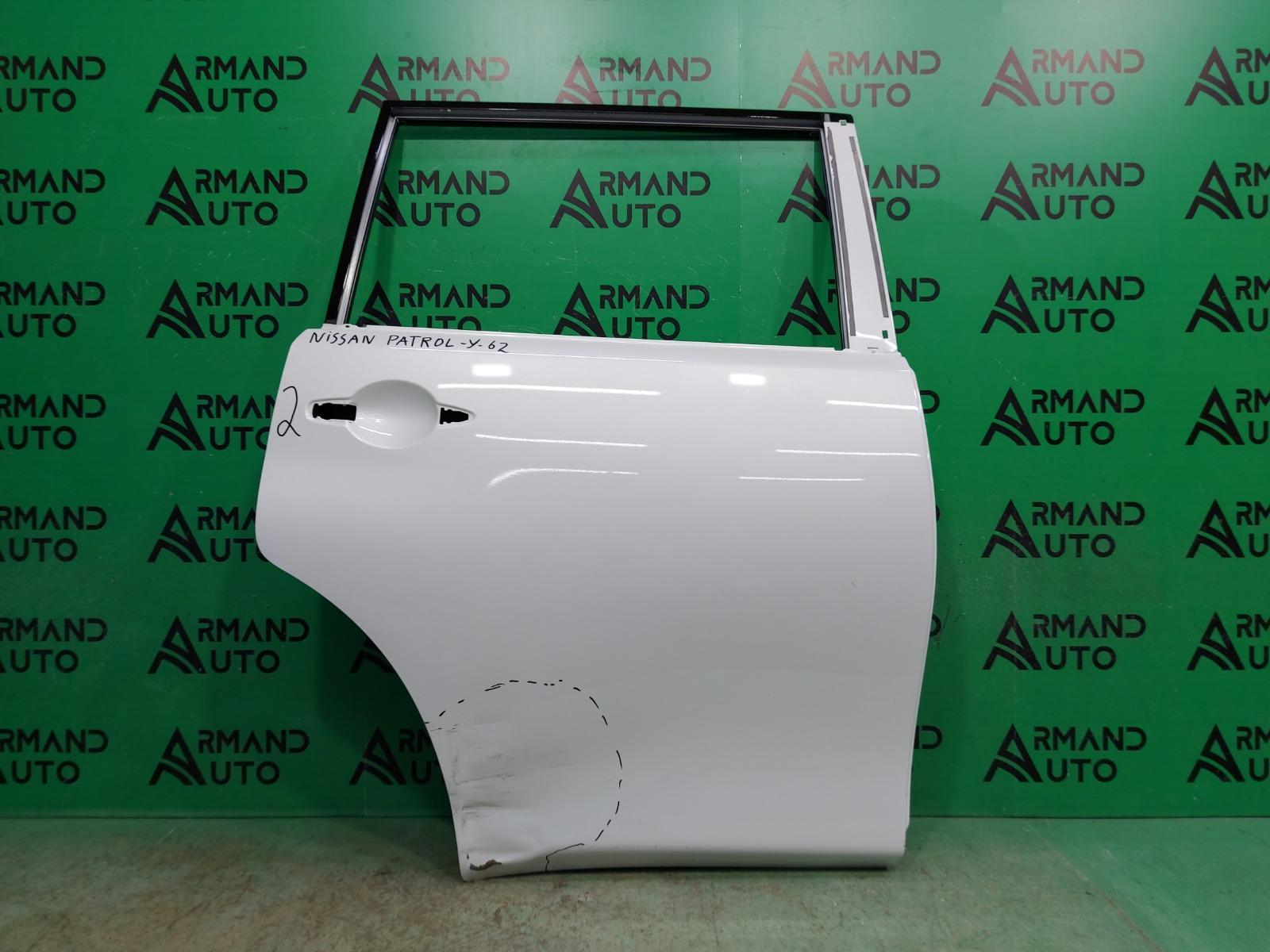Дверь Nissan Patrol Y62 2010 задняя правая (б/у)
