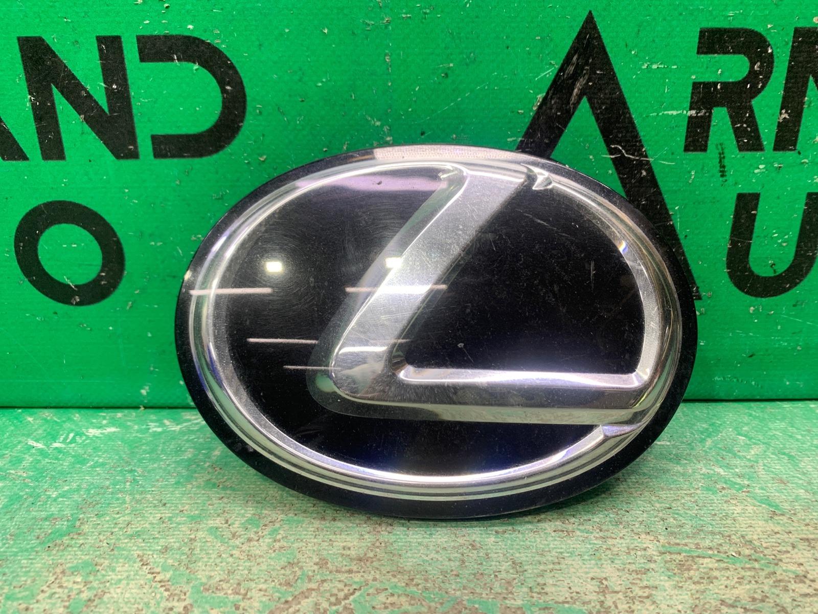 Эмблема Lexus Rx 4 РЕСТАЙЛИНГ 2019 передняя (б/у)