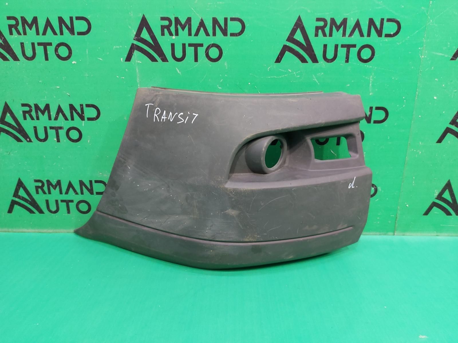 Бампер Ford Transit 6 2006 передний левый (б/у)