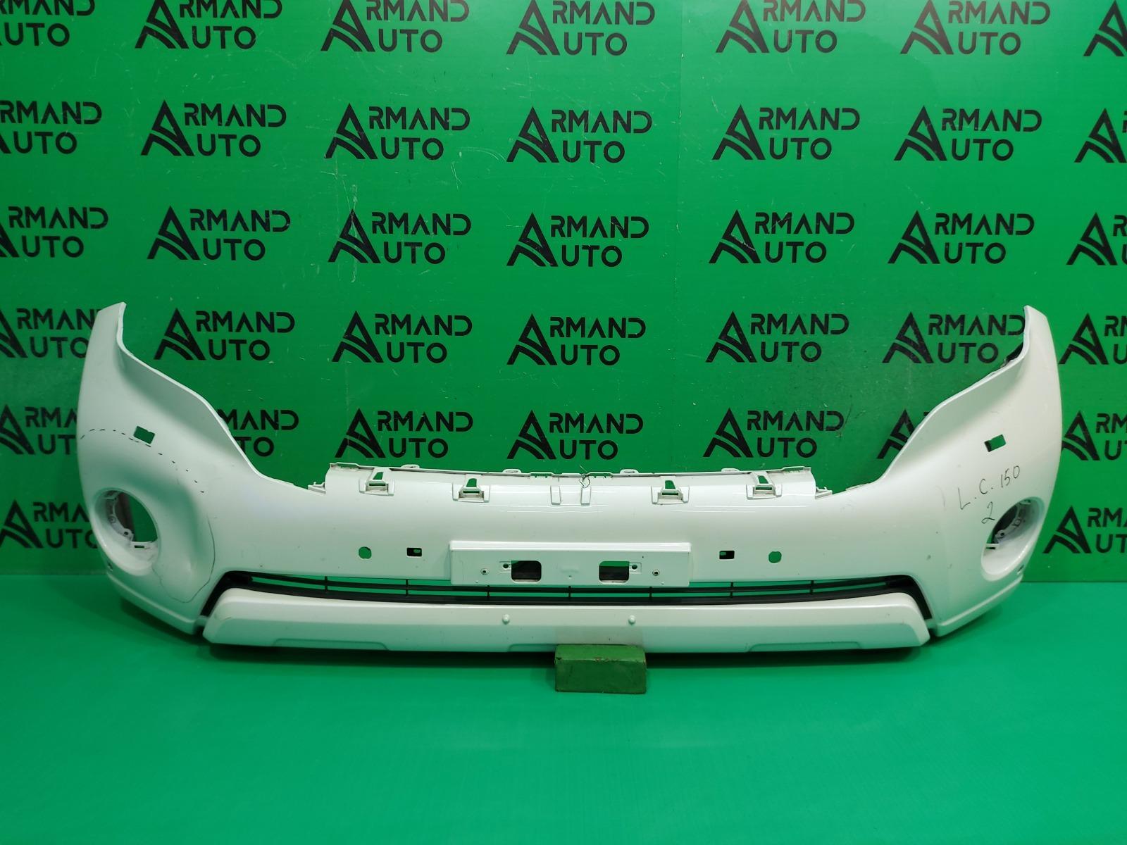 Бампер Toyota Land Cruiser Prado 150 РЕСТАЙЛИНГ 2013 передний (б/у)