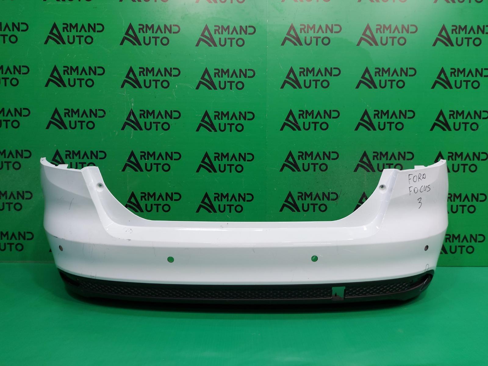 Бампер Ford Focus 3 РЕСТАЙЛИНГ 2014 задний (б/у)