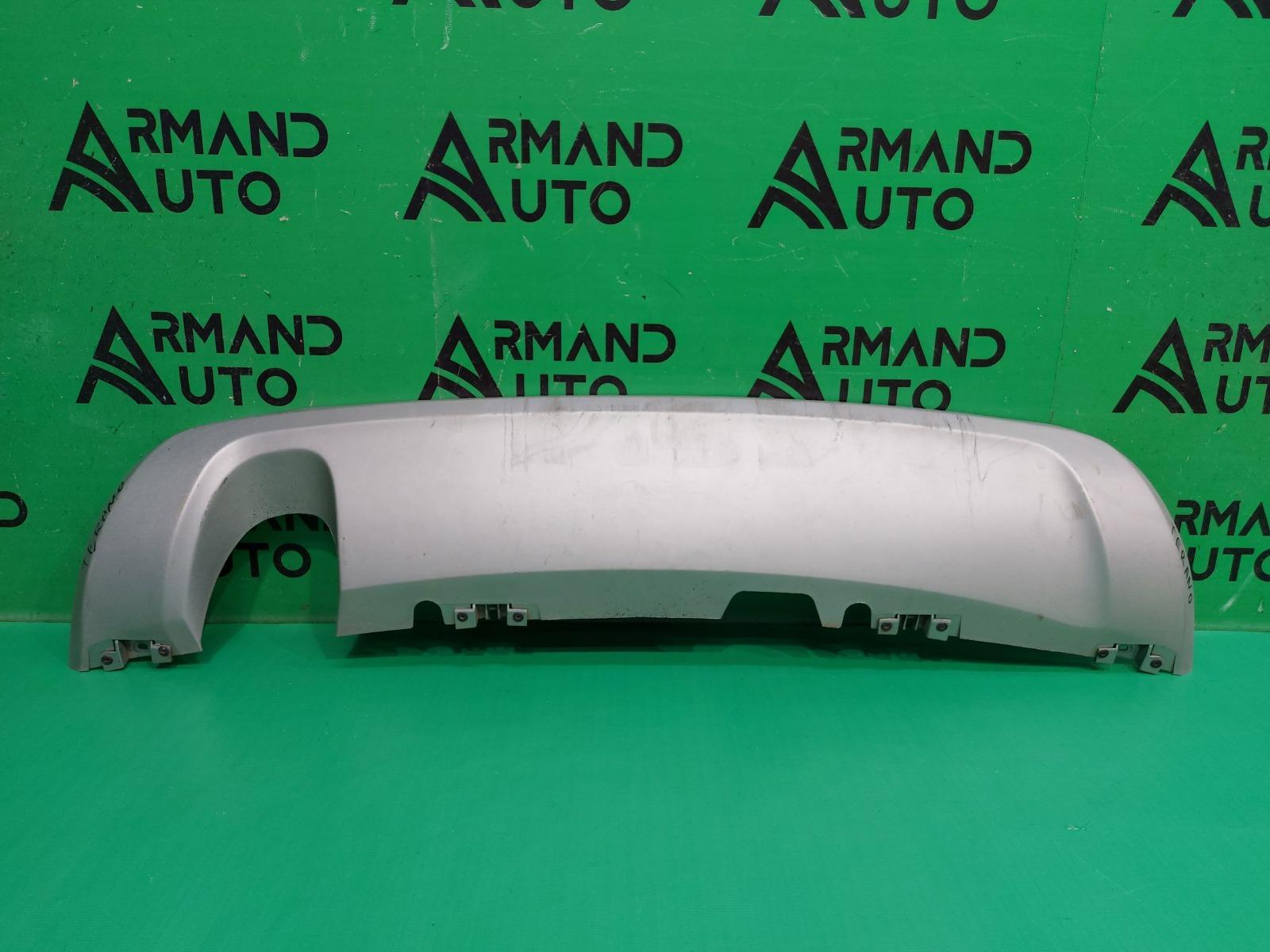 Накладка бампера Nissan Terrano 3 2014 задняя (б/у)