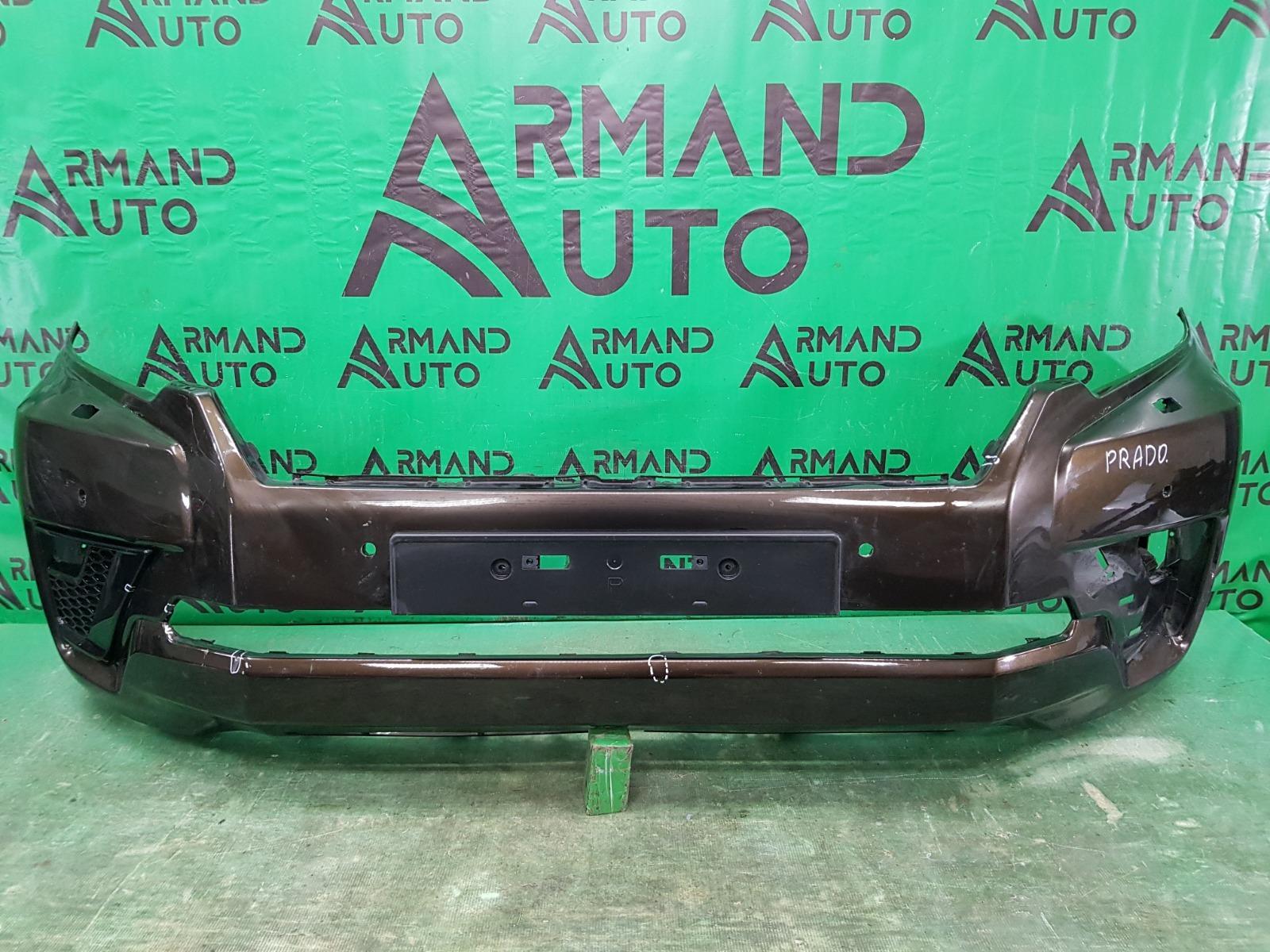 Бампер Toyota Land Cruiser Prado 150 РЕСТАЙЛИНГ 3 2020 передний (б/у)