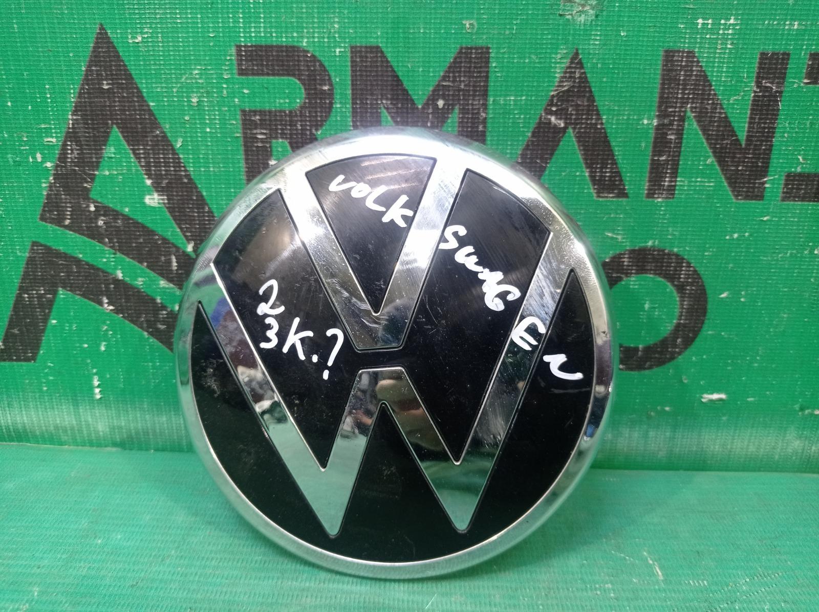 Эмблема Volkswagen Polo 6 2020 передняя (б/у)