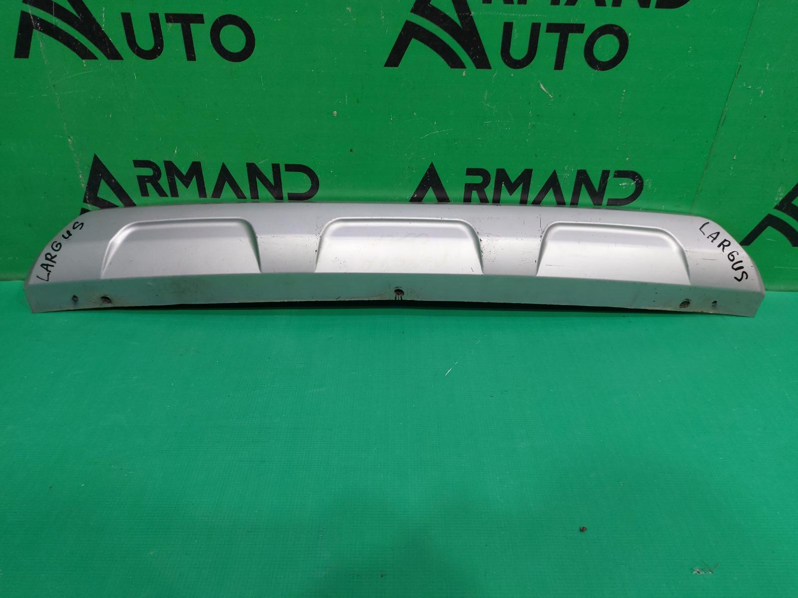 Накладка бампера Lada Largus 1 2012 задняя (б/у)