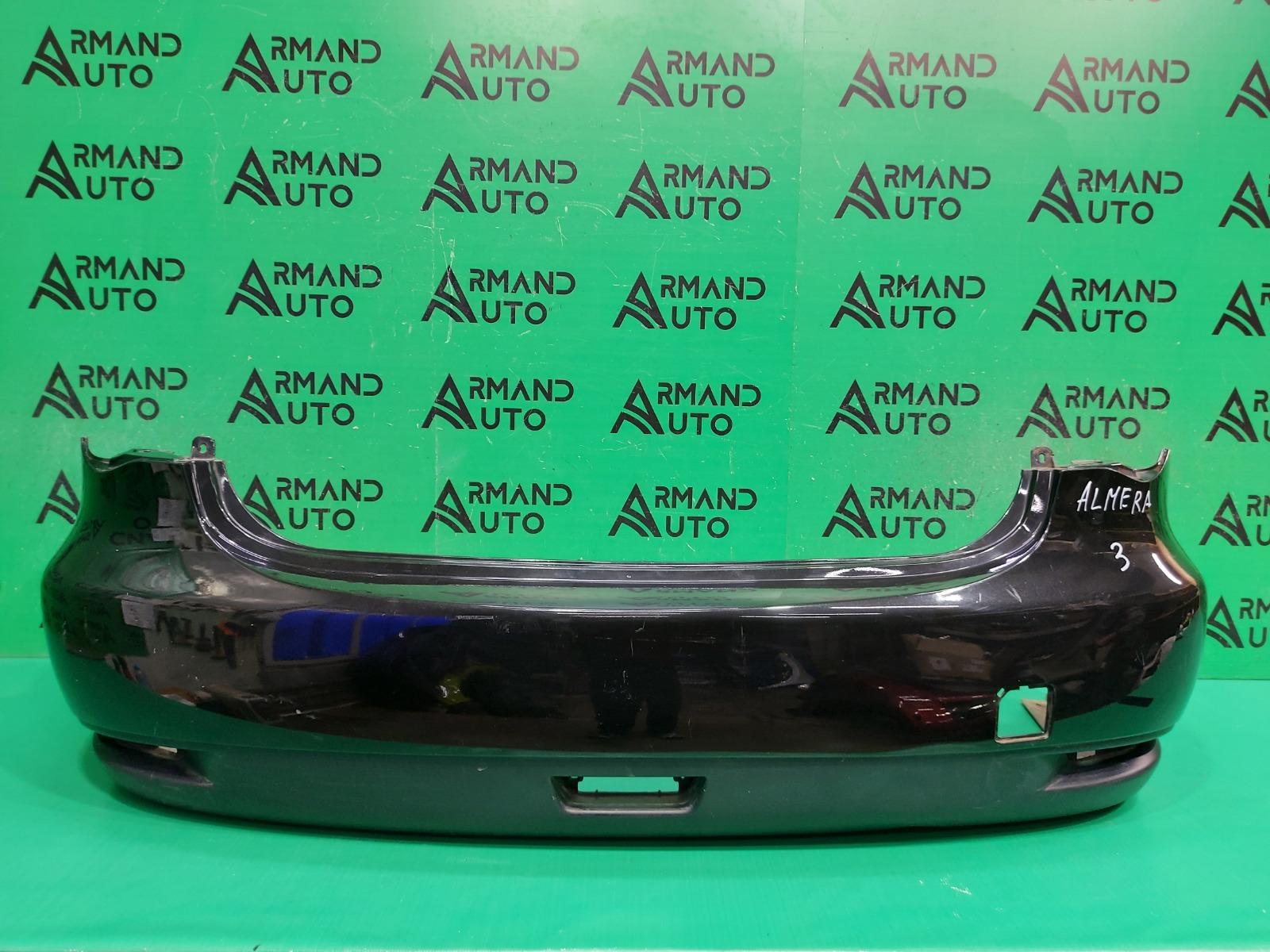 Бампер Nissan Almera G15 2013 задний (б/у)