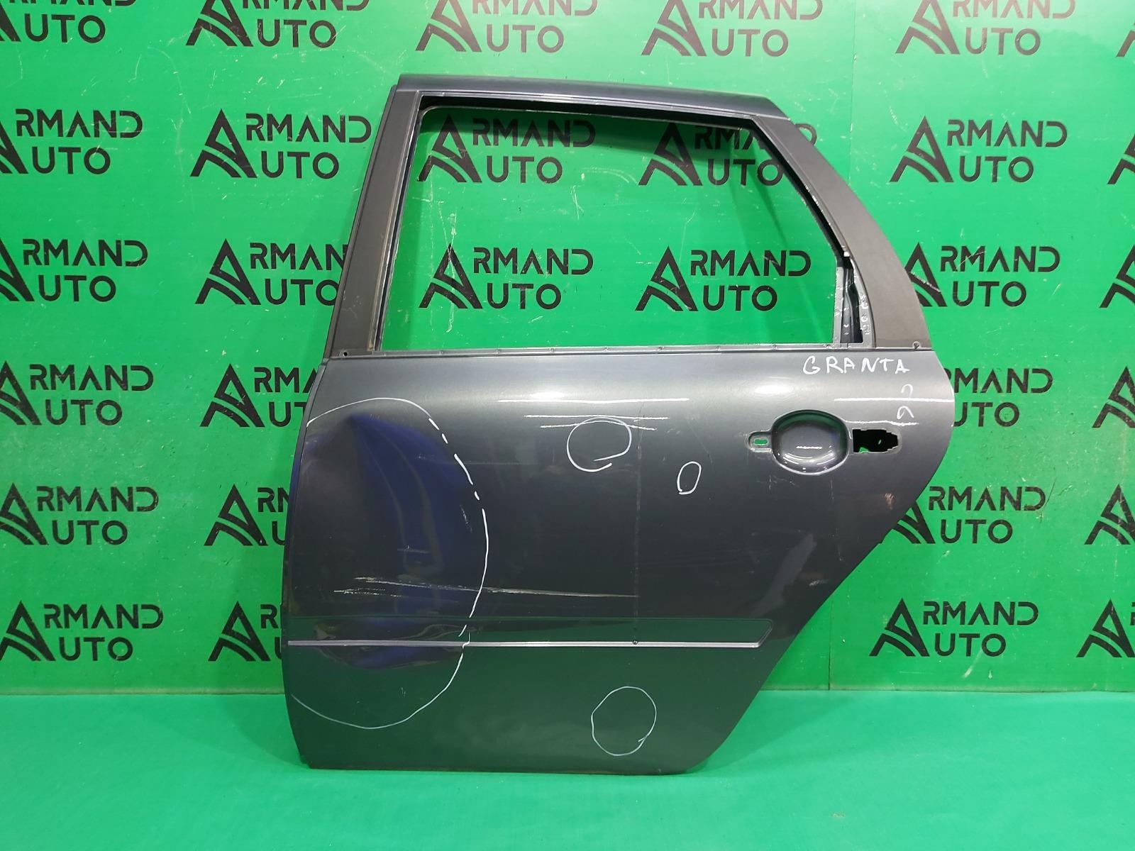 Дверь Lada Granta 1 2011 задняя левая (б/у)