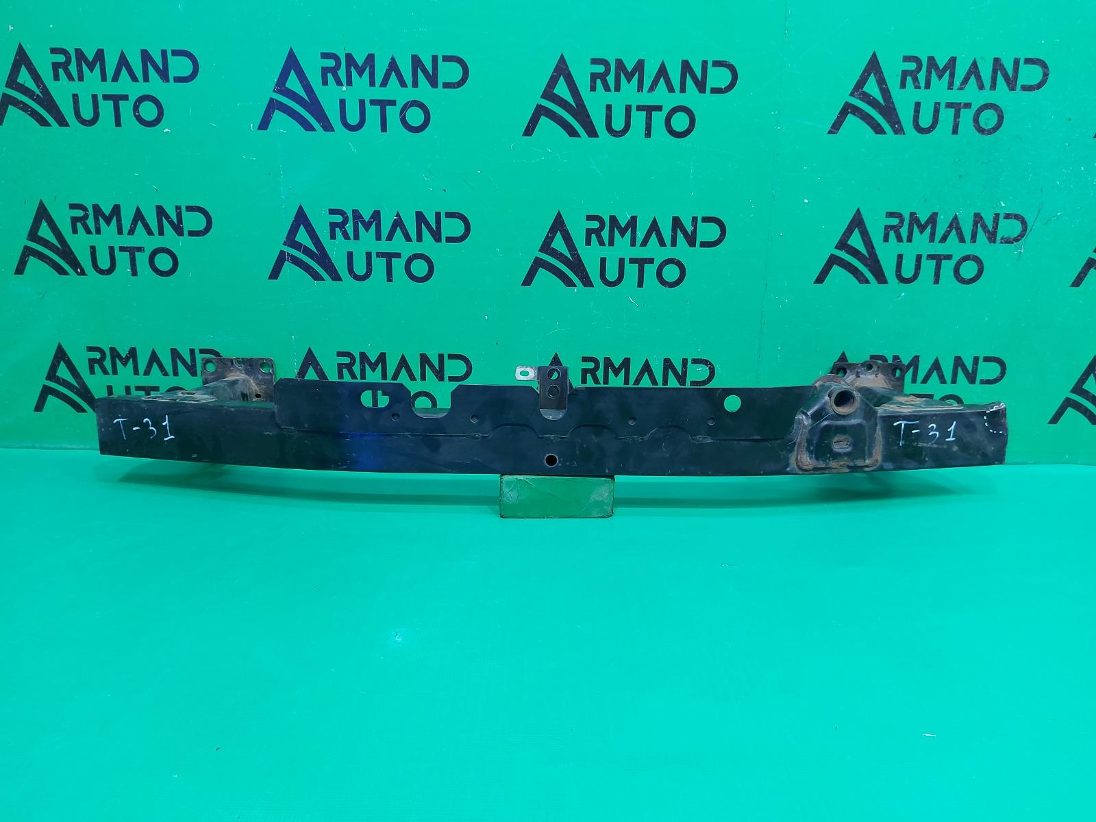Усилитель бампера Nissan X-Trail T31 2007 передний (б/у)