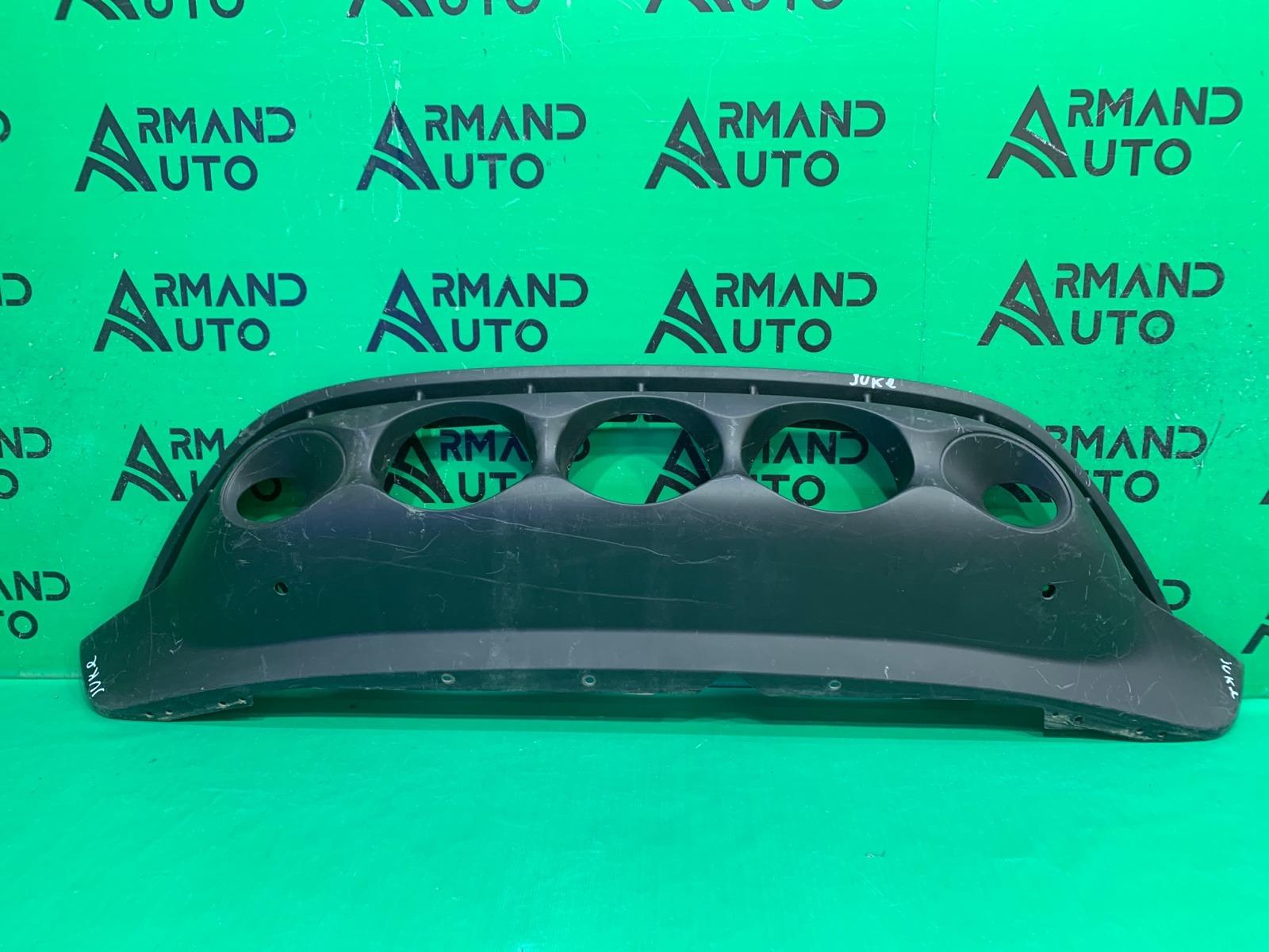 Юбка бампера Nissan Juke YF15 2010 передняя (б/у)