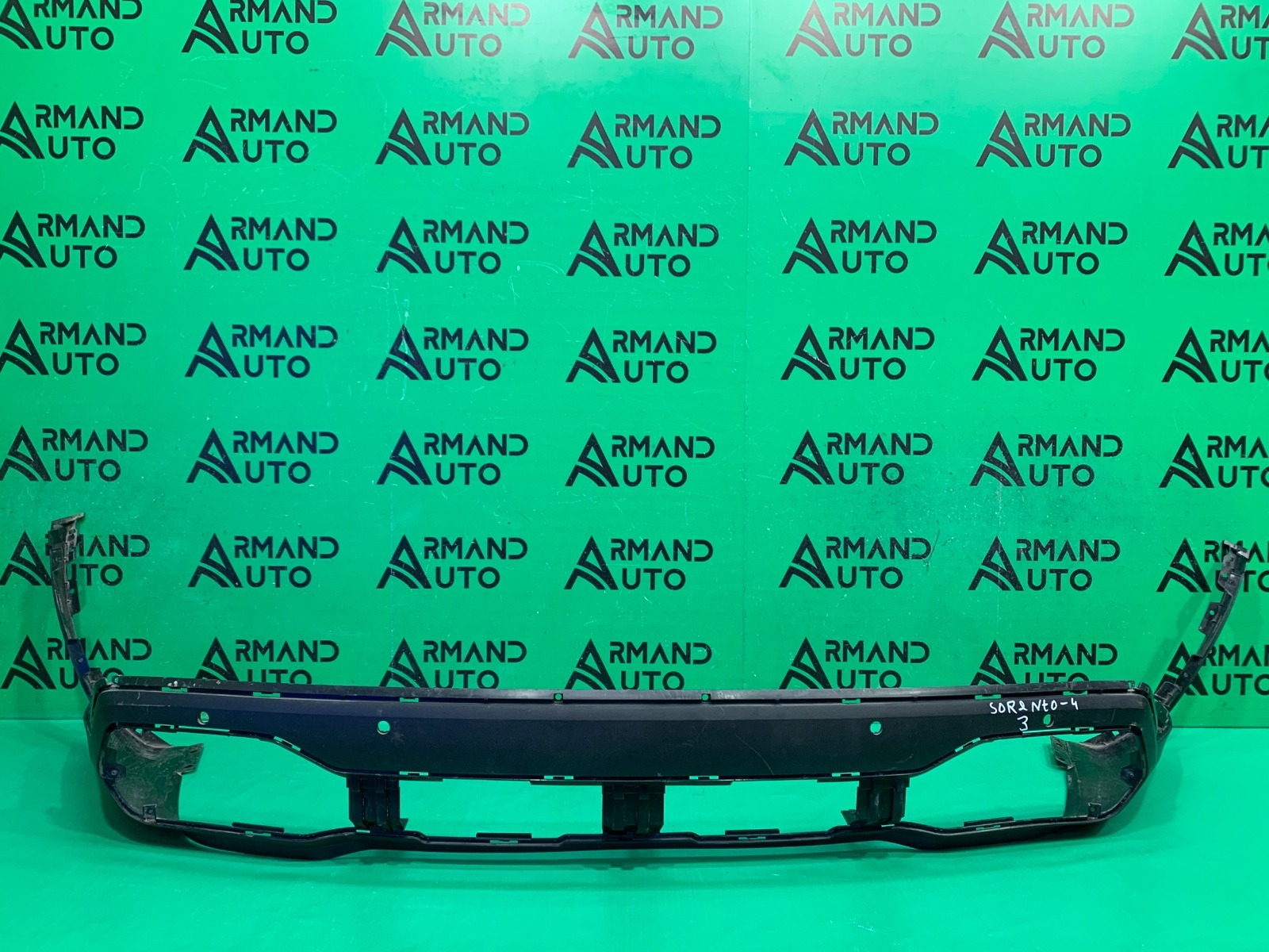 Юбка бампера Kia Sorento 4 2020 задняя (б/у)