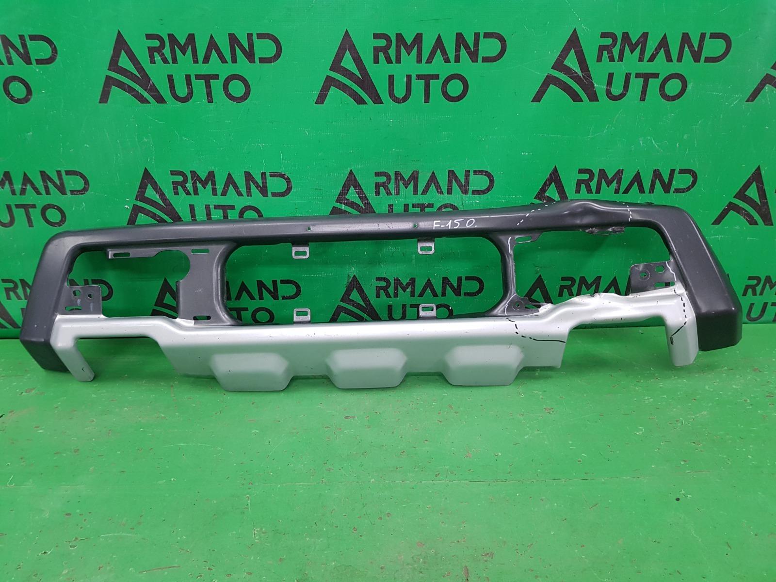 Накладка бампера Ford F-150 13 2014 передняя (б/у)