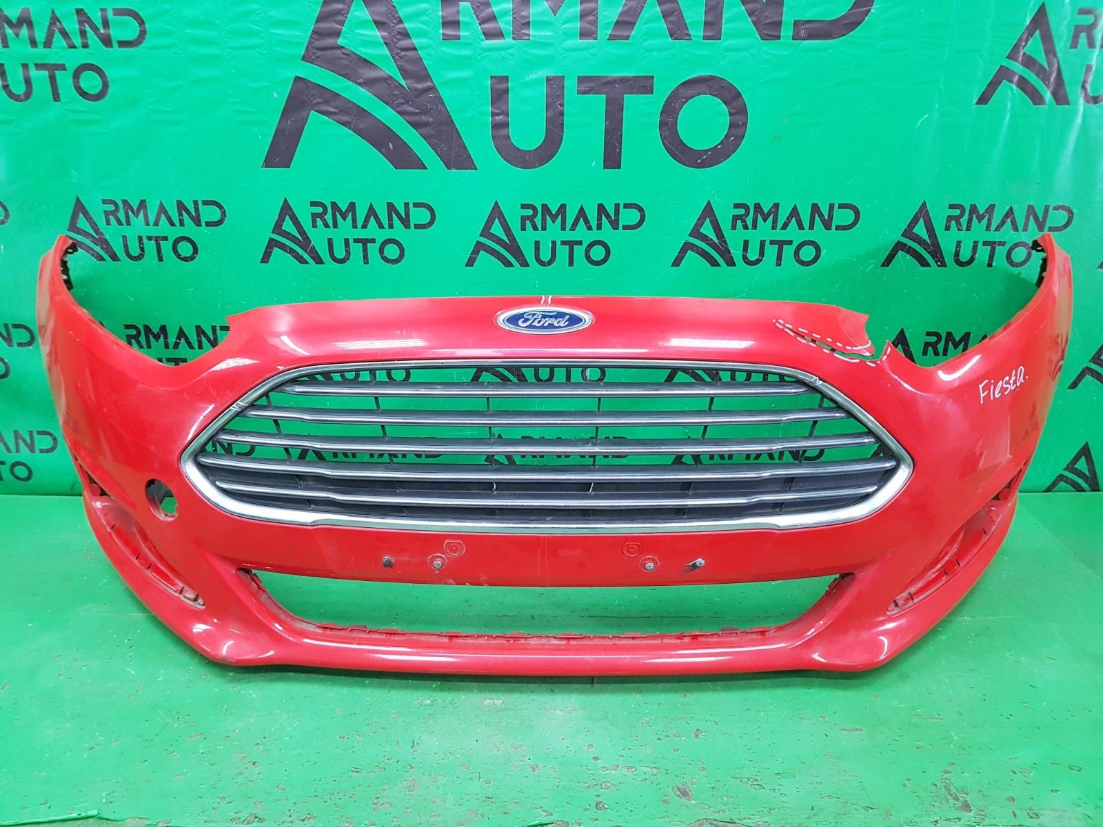 Бампер Ford Fiesta MK6 РЕСТАЙЛИНГ 2012 передний (б/у)